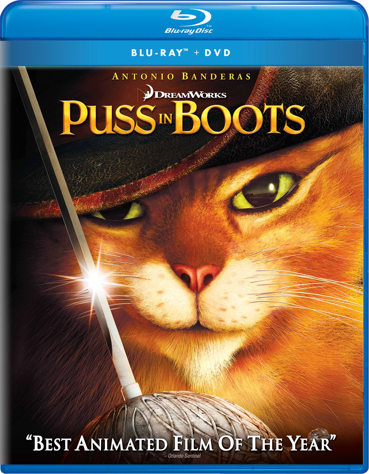 Puss in Boots (Digital) [Blu-ray]