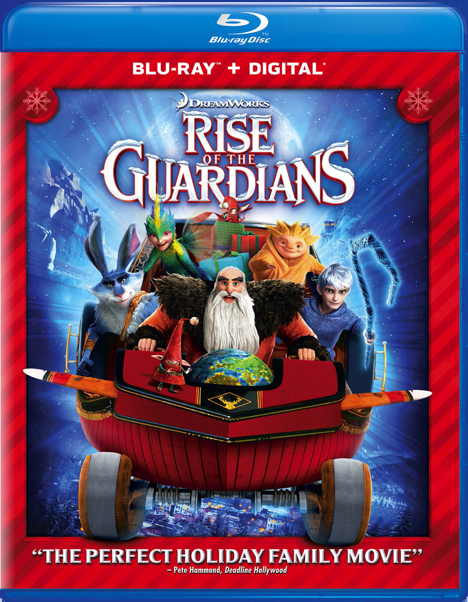 Rise of the Guardians (Digital + Holiday Art) [Blu-ray]