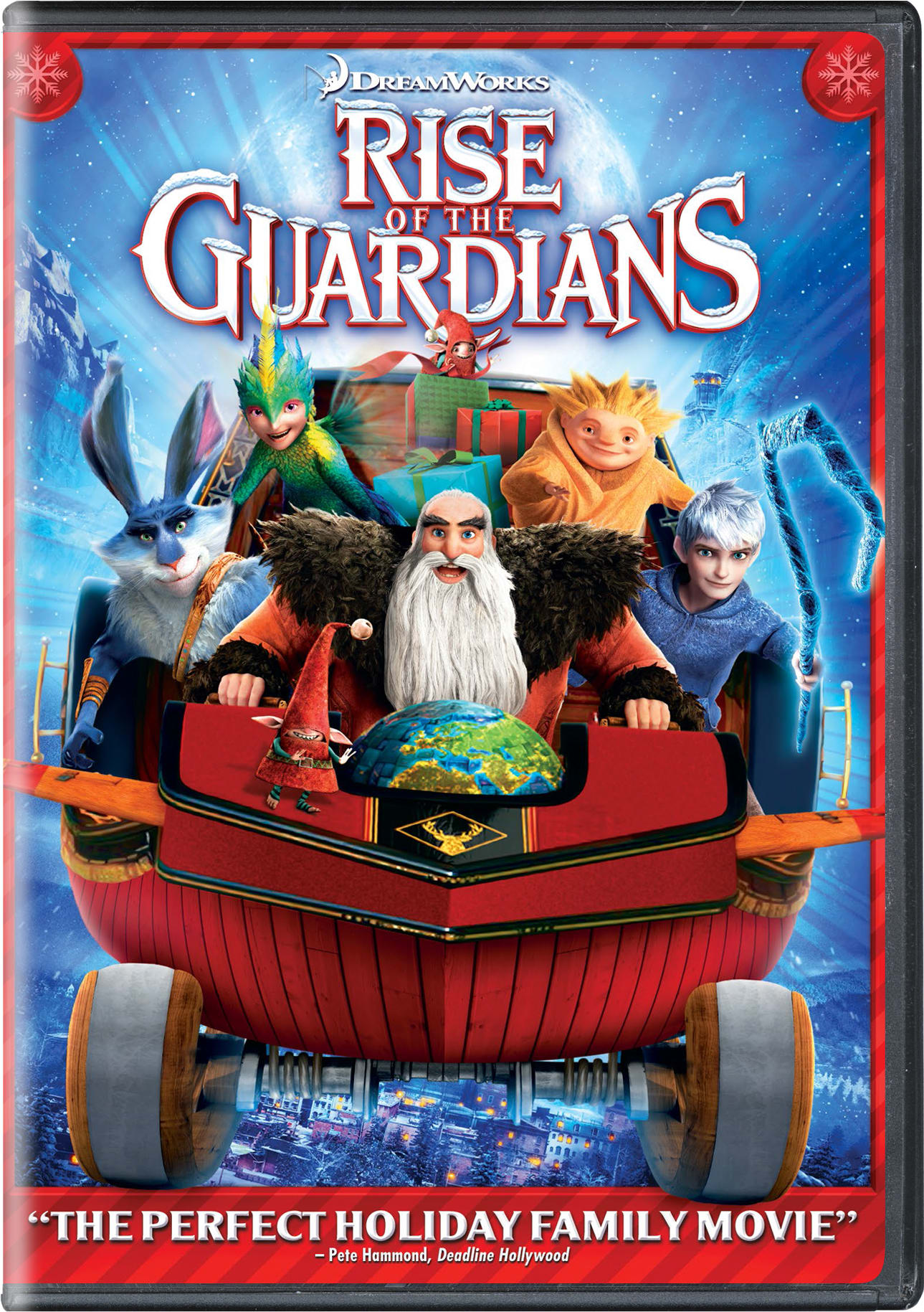 Rise of the Guardians (Holiday Art) [DVD]