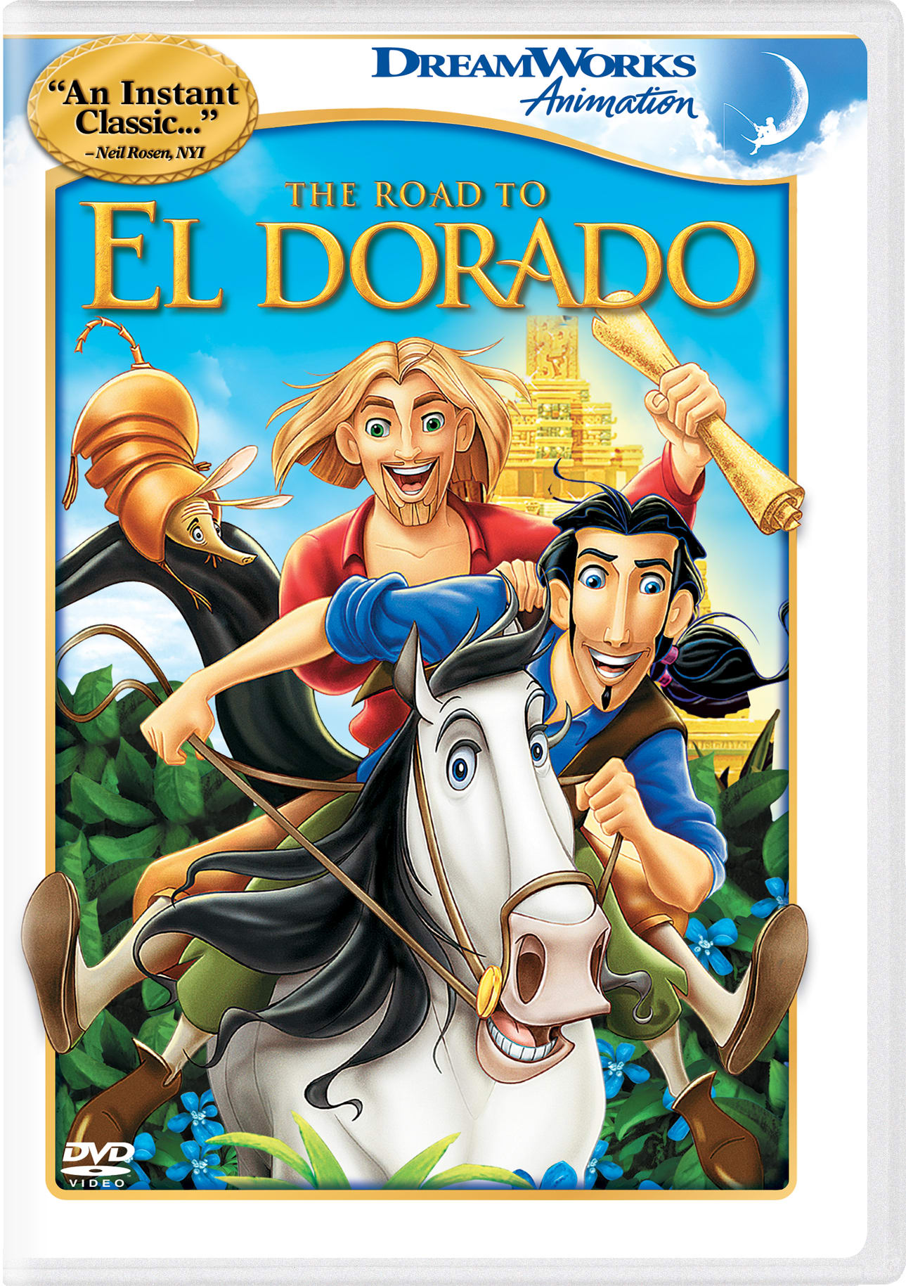 The Road to El Dorado (2018) [DVD]