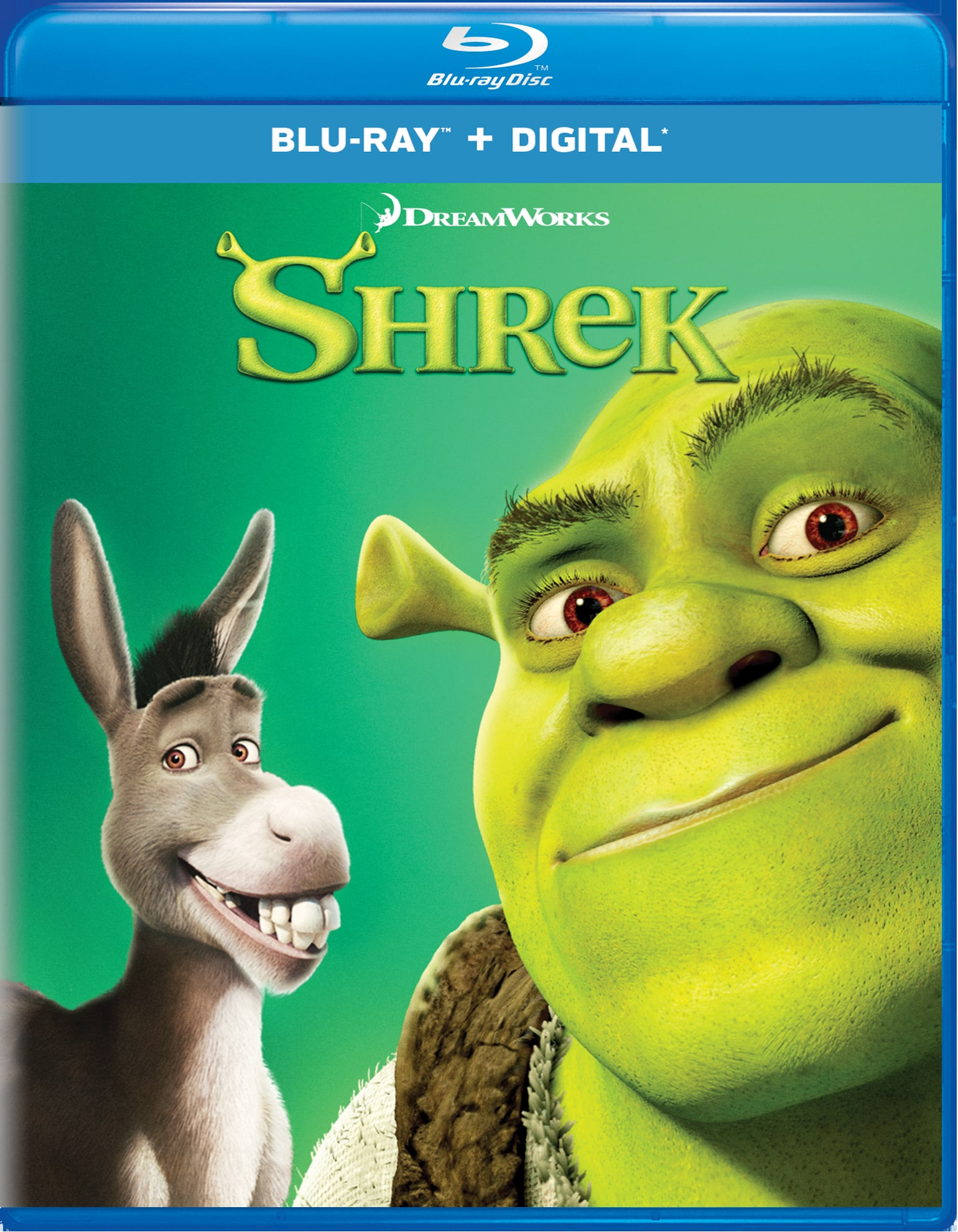 Shrek (Digital) [Blu-ray]