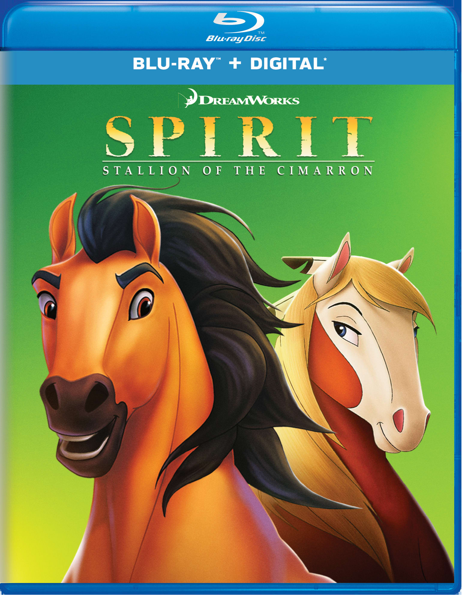 Spirit - Stallion of the Cimarron [Blu-ray]