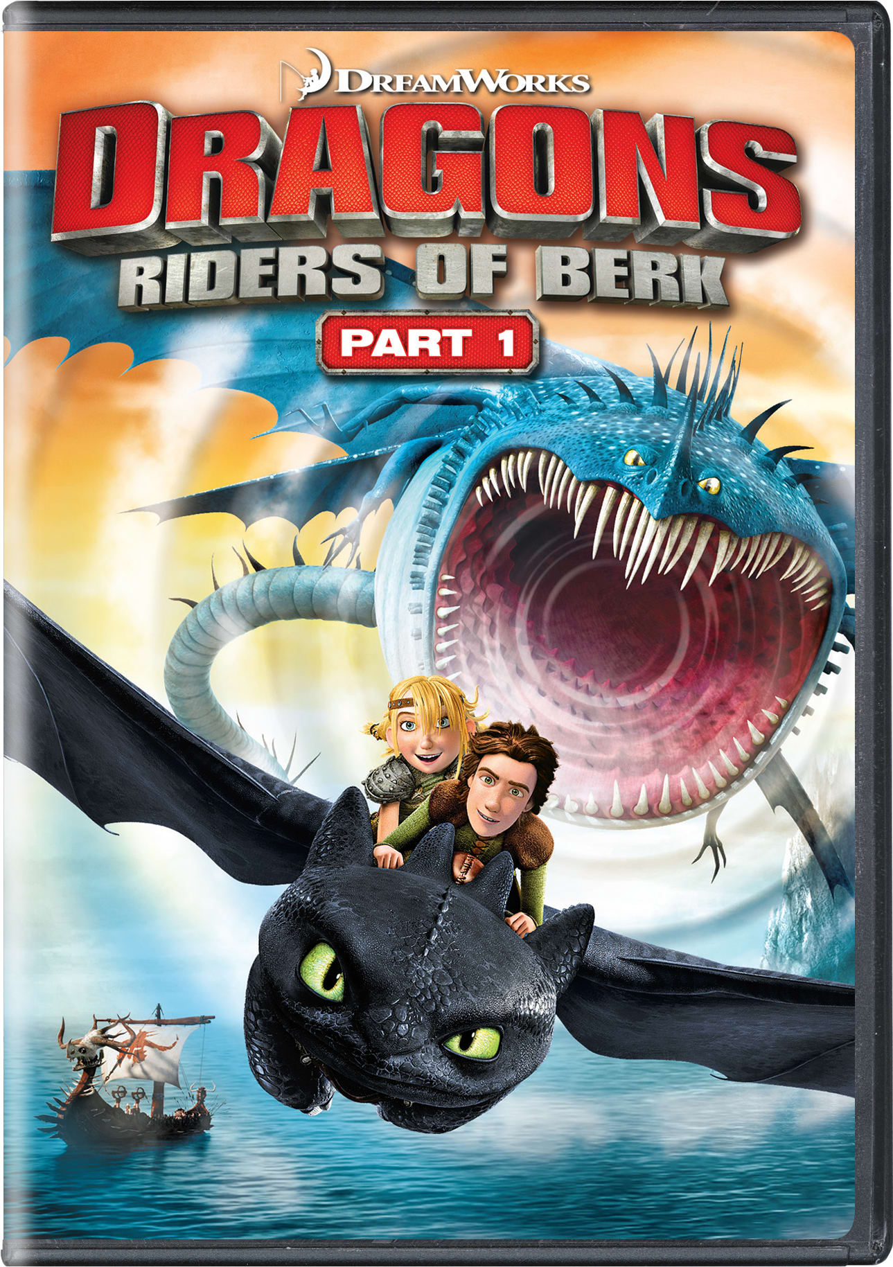 Dragons: Riders of Berk - Part 1 [DVD]