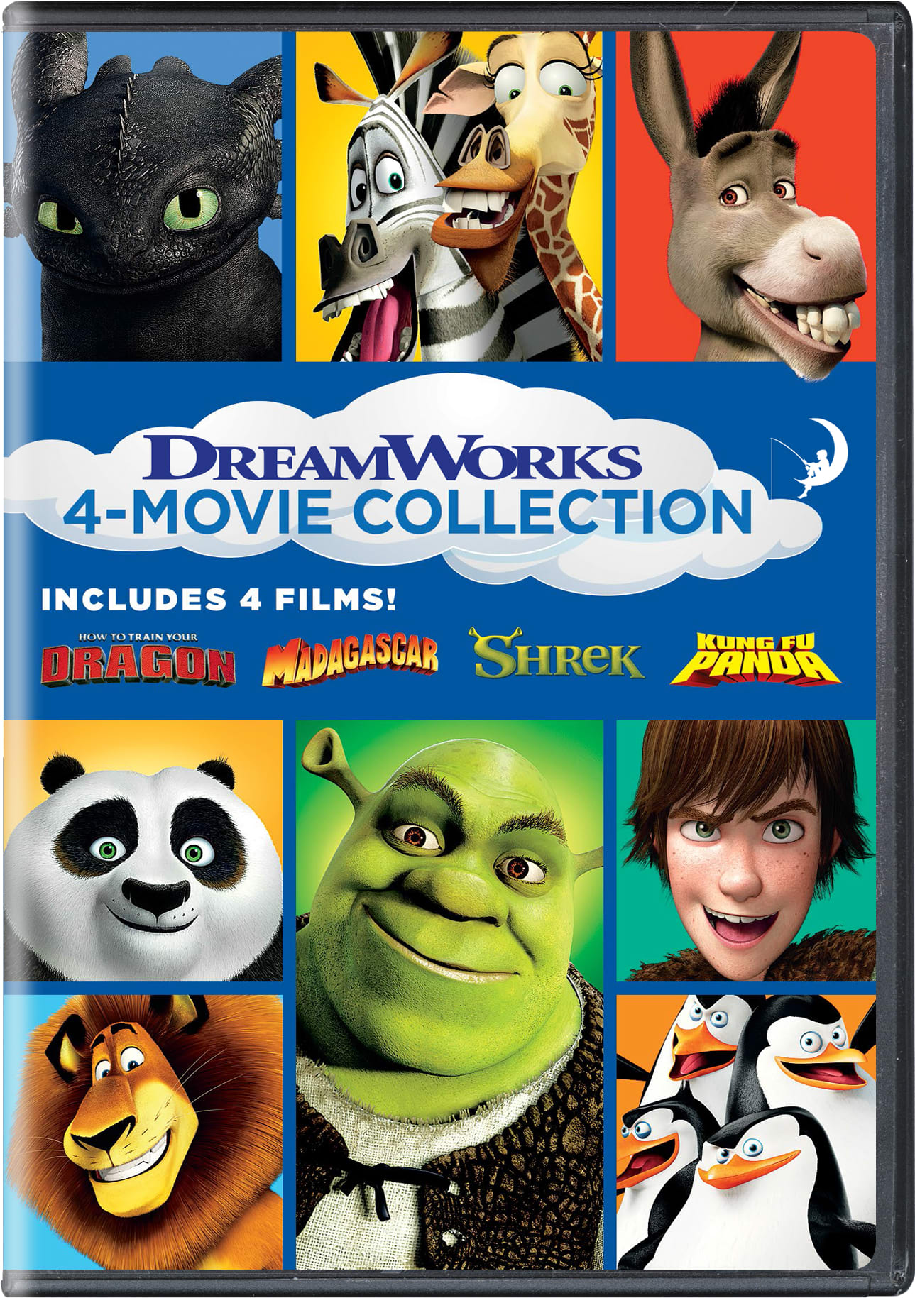 How to Train Your Dragon/Madagascar/Shrek/Kung Fu Panda [DVD]