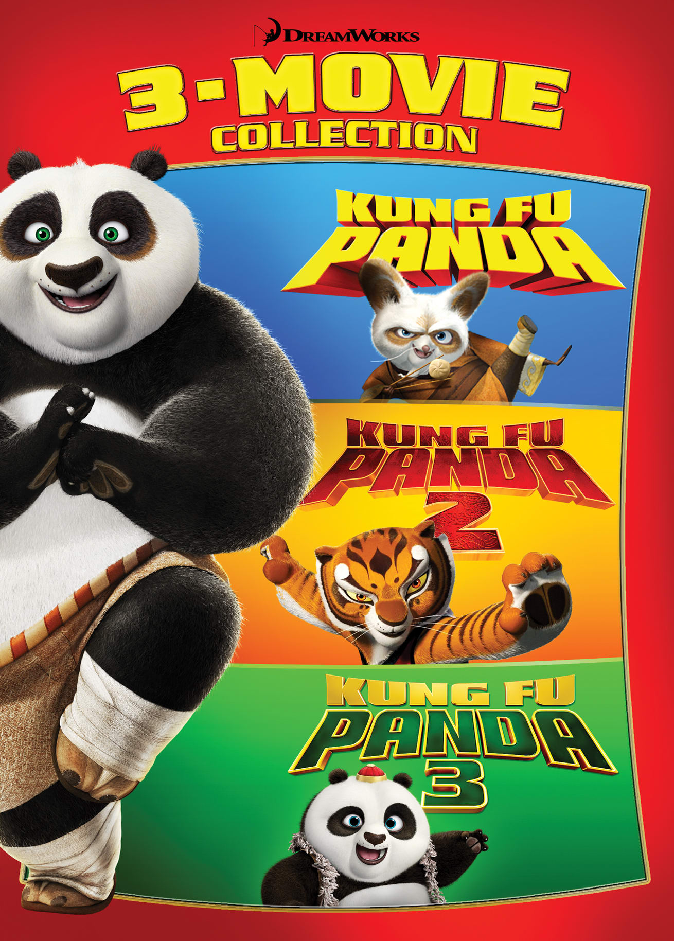 Kung Fu Panda: 3-Movie Collection [DVD]