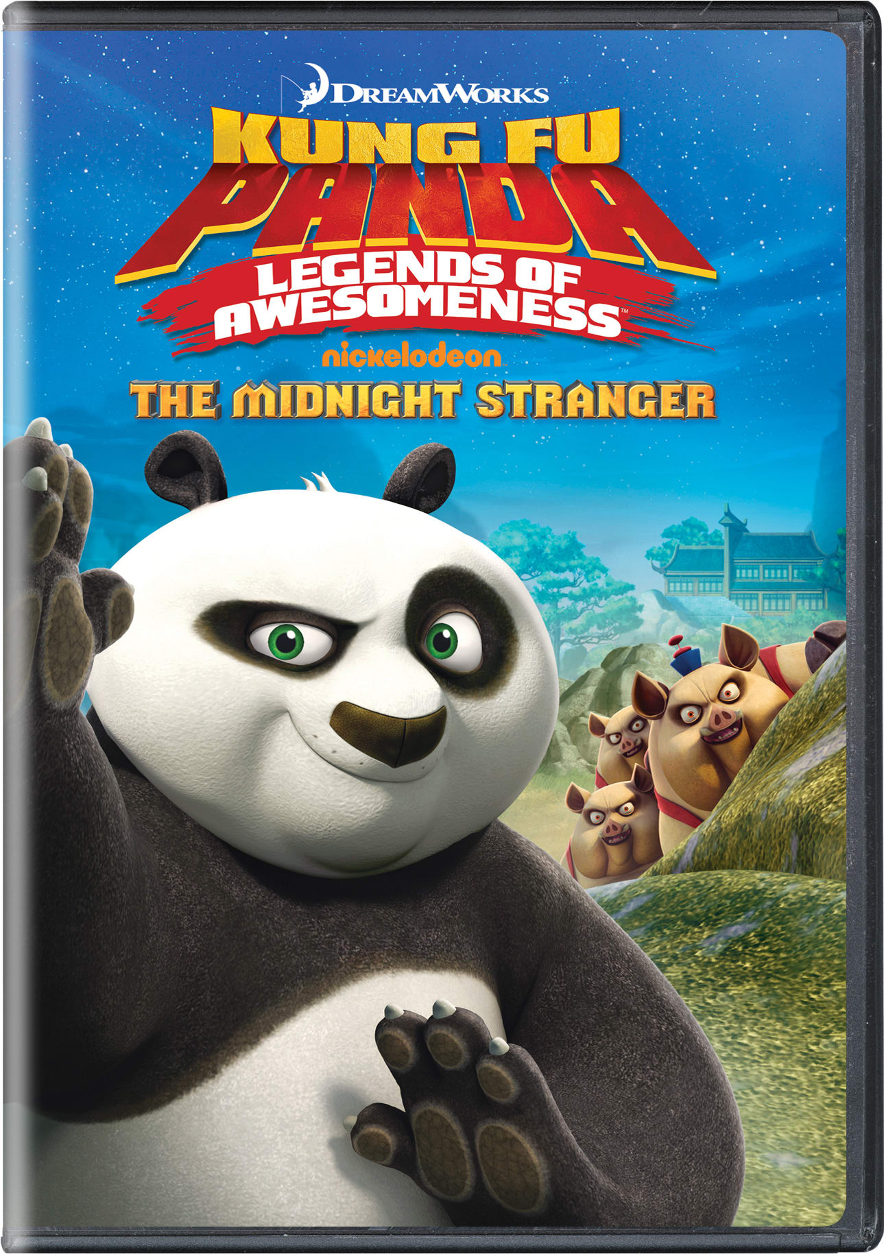 Kung Fu Panda: Legends of Awesomeness - The Midnight Stranger [DVD]
