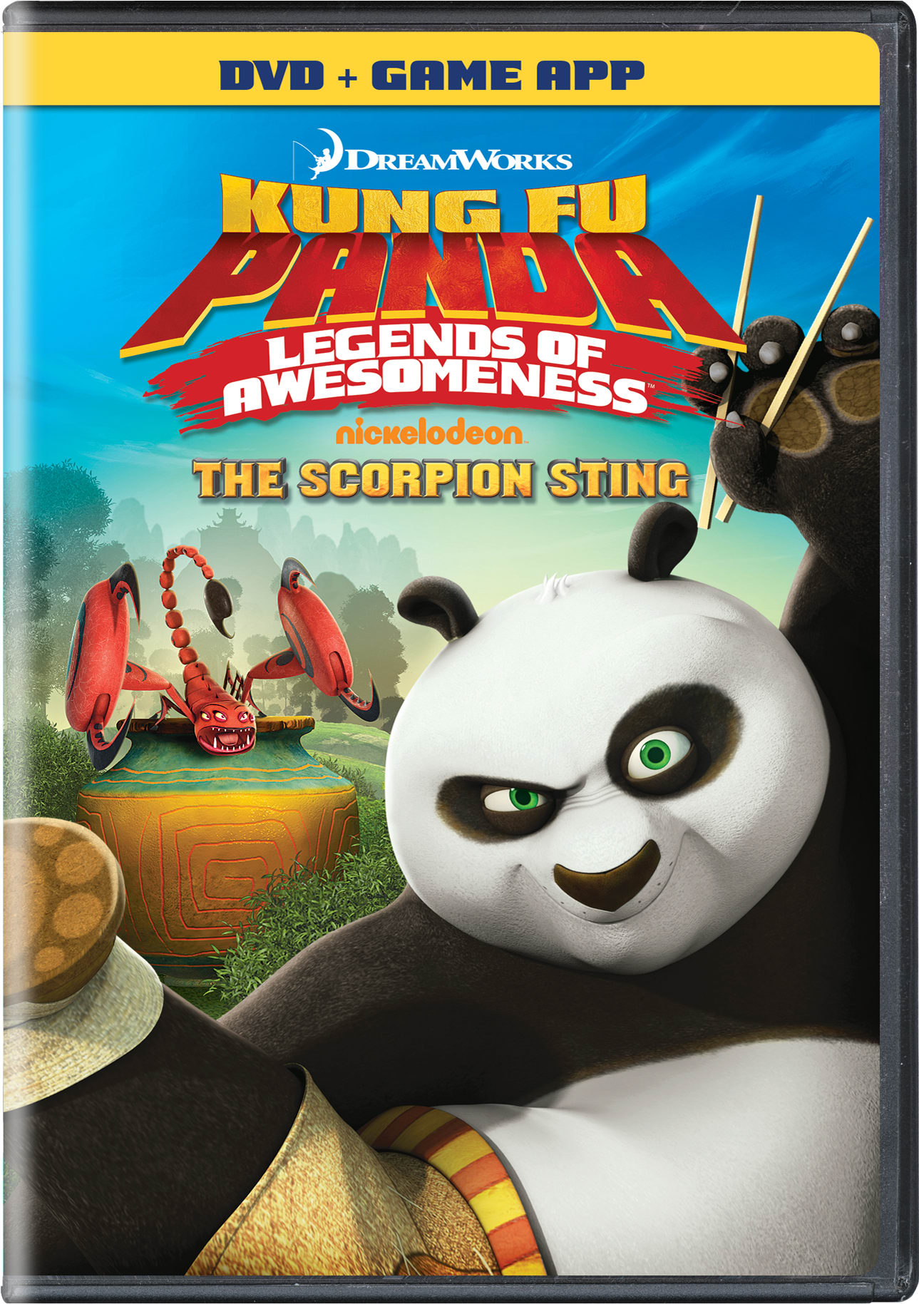 Kung Fu Panda: Legends of Awesomeness - The Scorpion Sting [DVD]