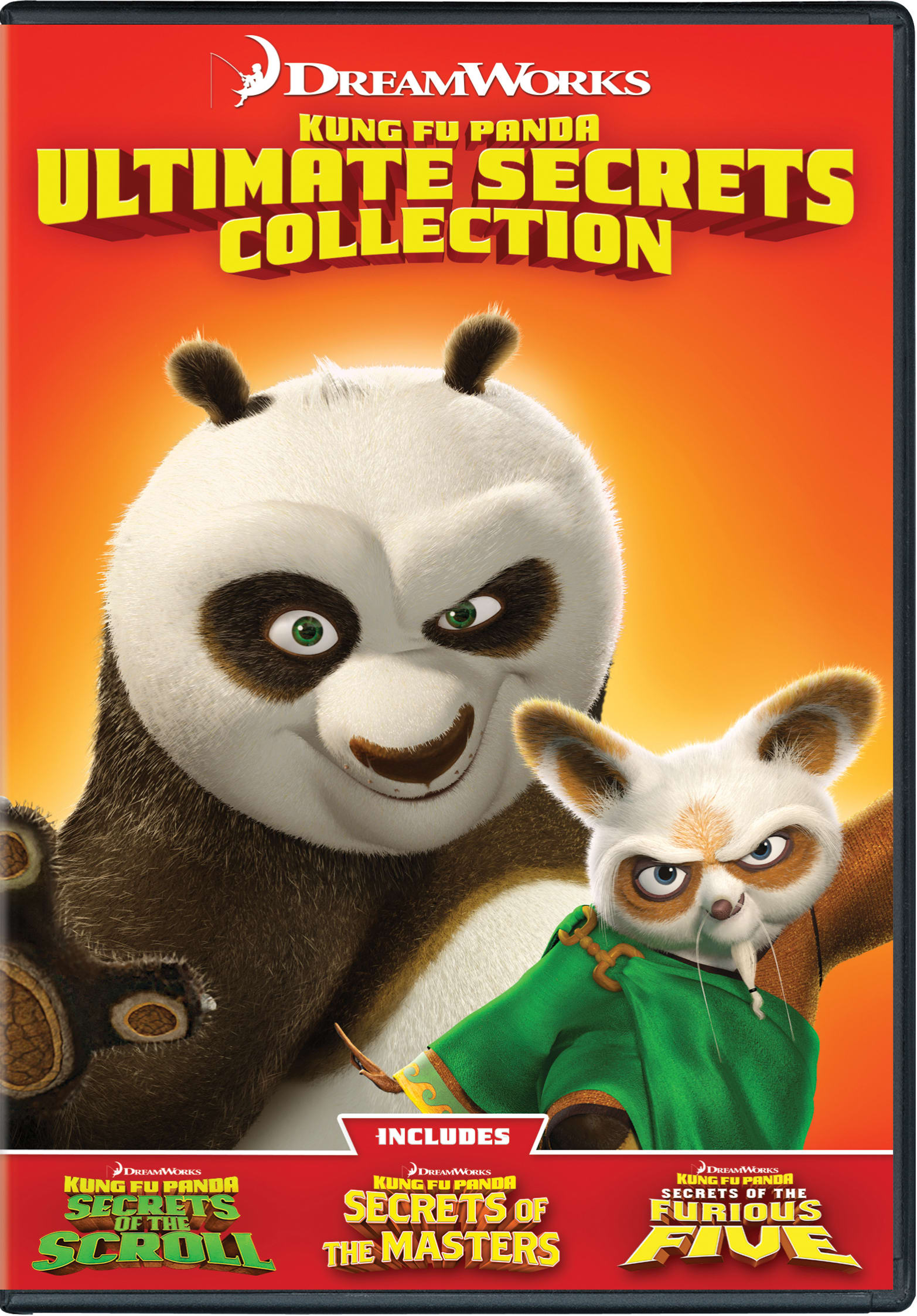 Kung Fu Panda: Ultimate Secrets Collection [DVD]