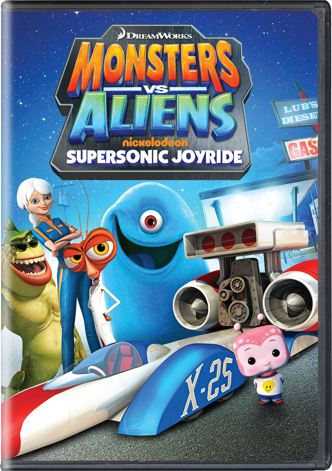 Monsters Vs. Aliens: Supersonic Joyride [DVD]