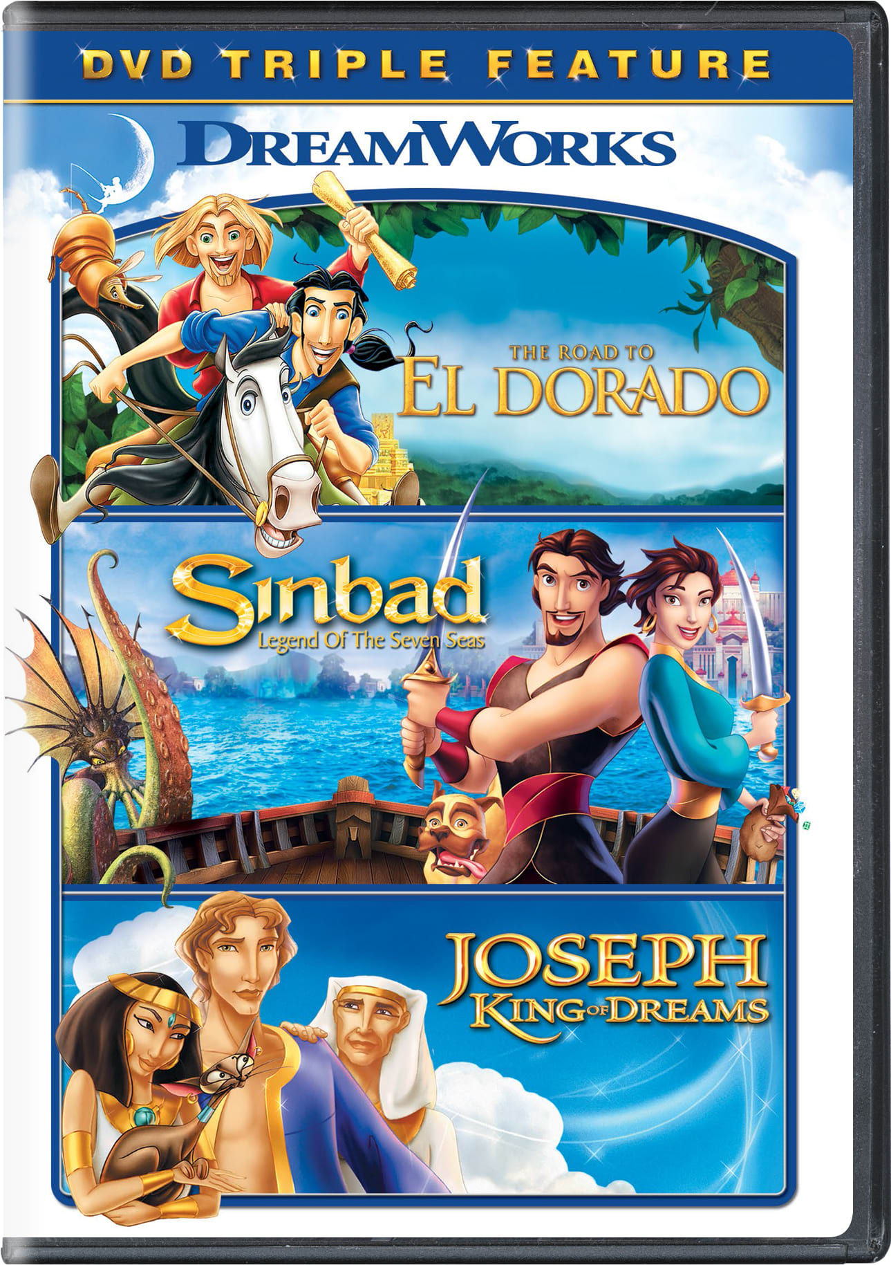 The Road to El Dorado/Sinbad: Legend of the Seven Seas/Joseph:... [DVD]