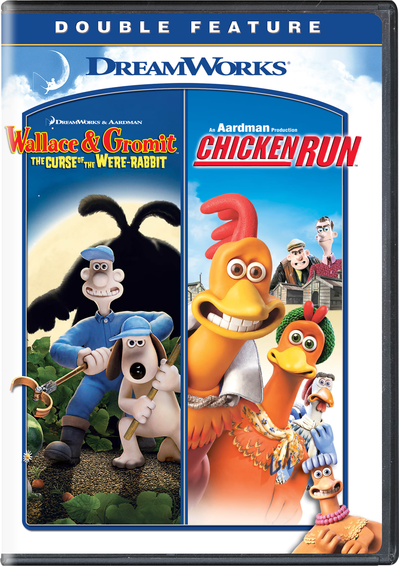 Wallace & Gromit: The Curse of the Were-rabbit /Chicken Run [DVD]