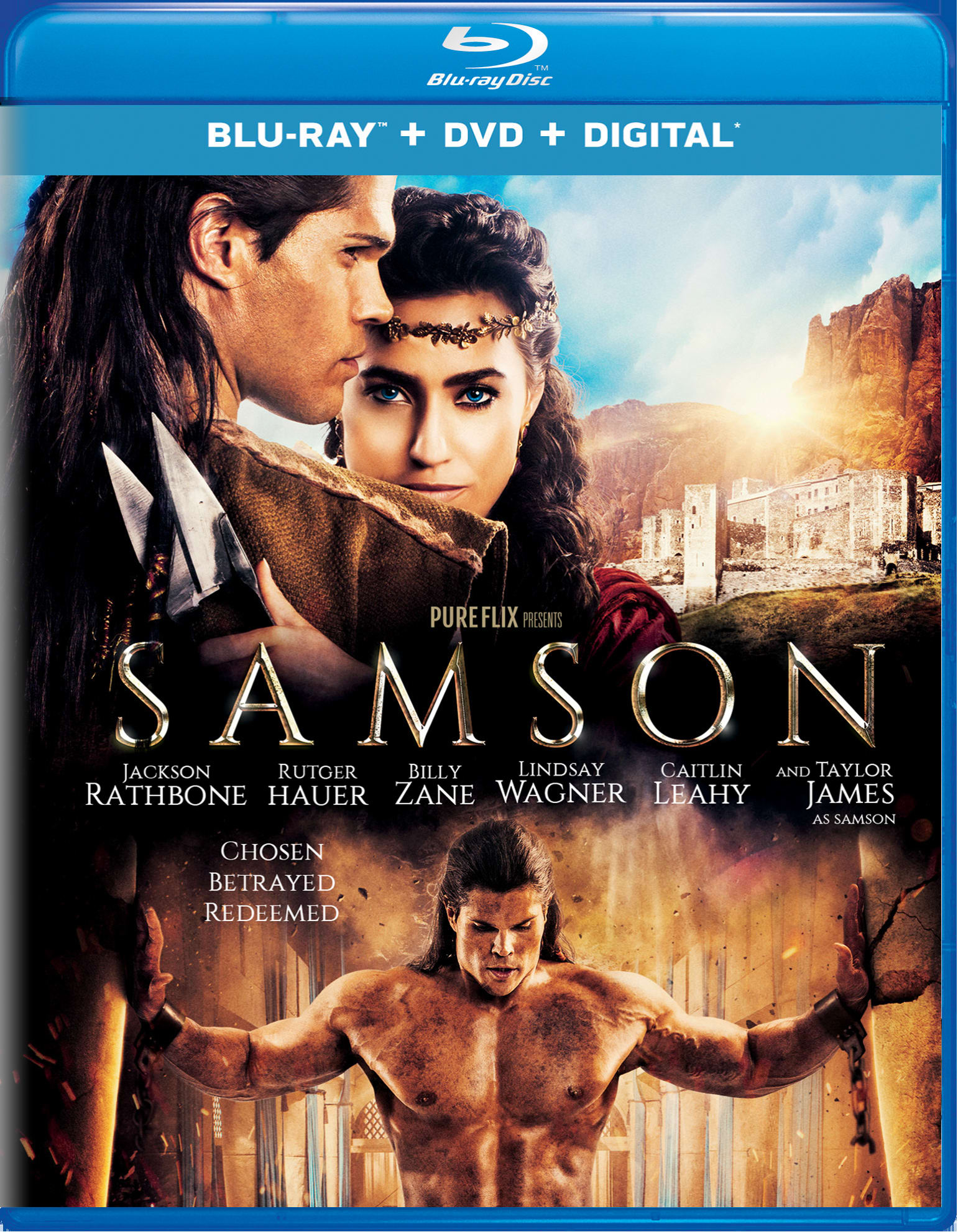 Samson (DVD + Digital) [Blu-ray]
