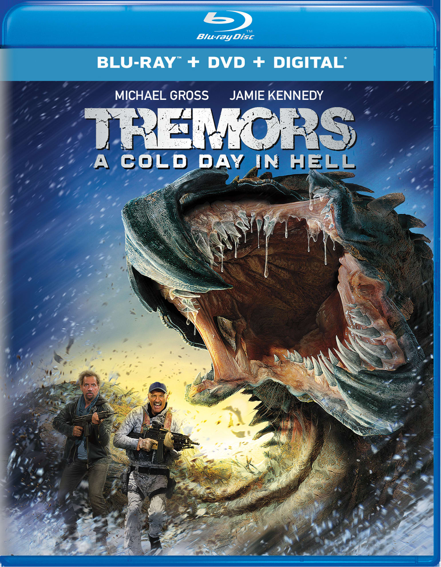 Tremors: A Cold Day in Hell (DVD + Digital) [Blu-ray]