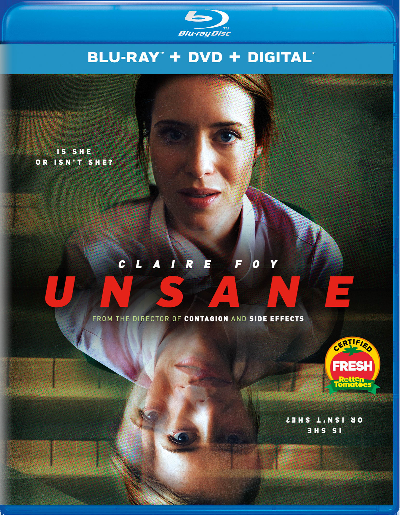 Unsane (DVD + Digital) [Blu-ray]