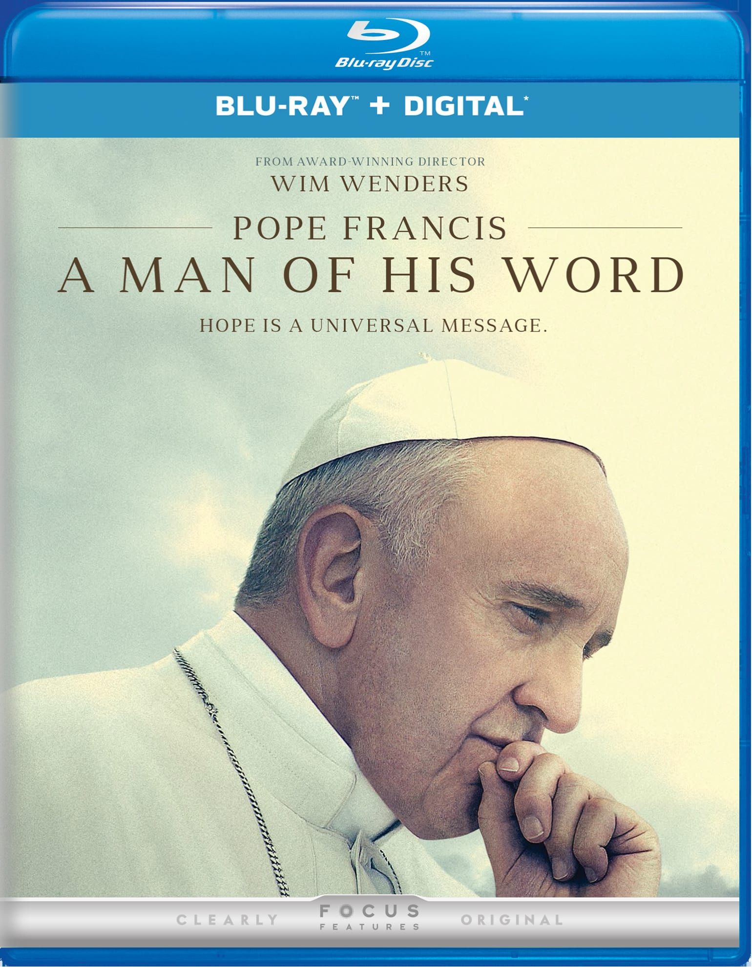 Pope Francis - A Man of His Word [Blu-ray]