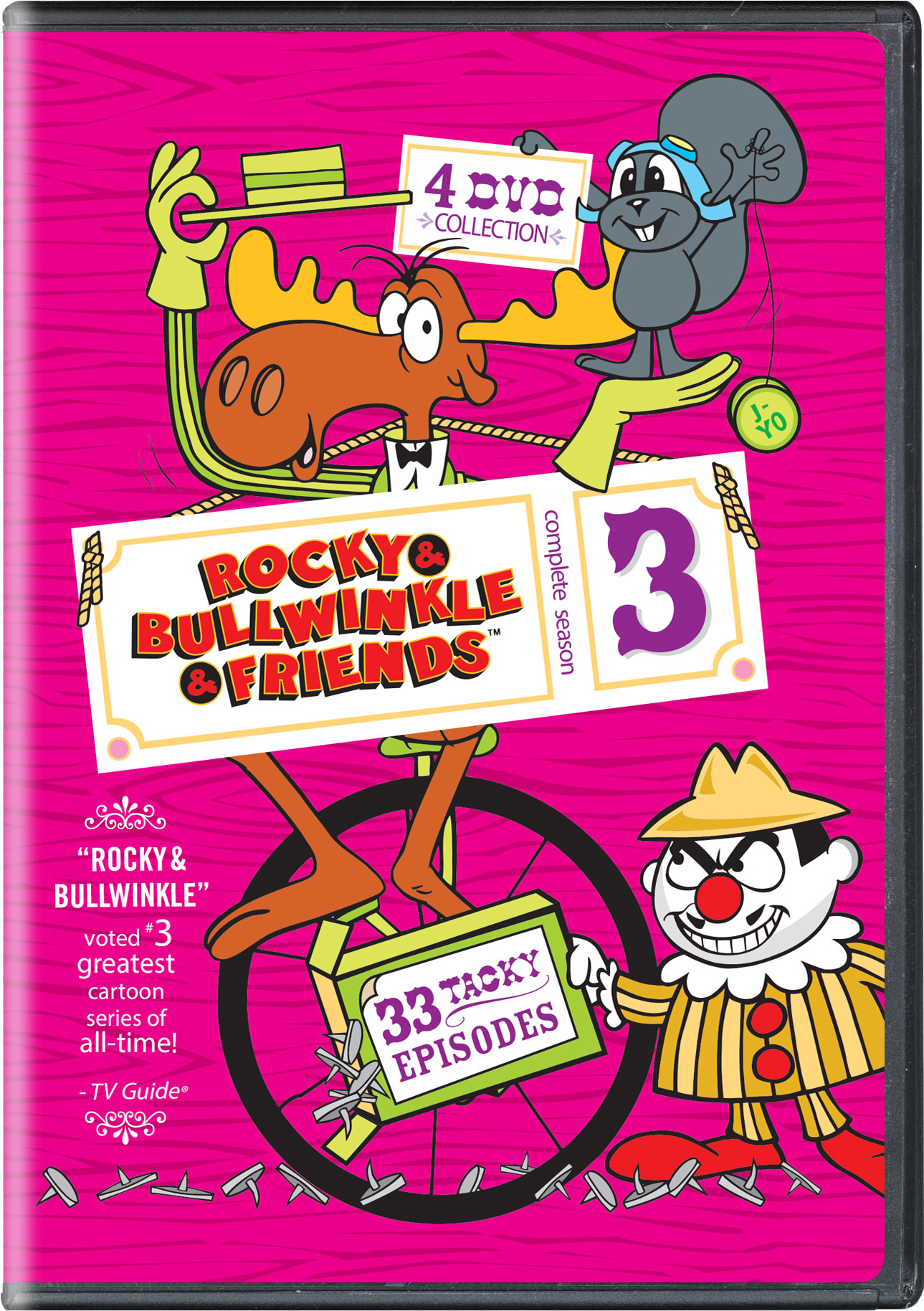 Rocky & Bullwinkle & Friends: Complete Season 3 [DVD]