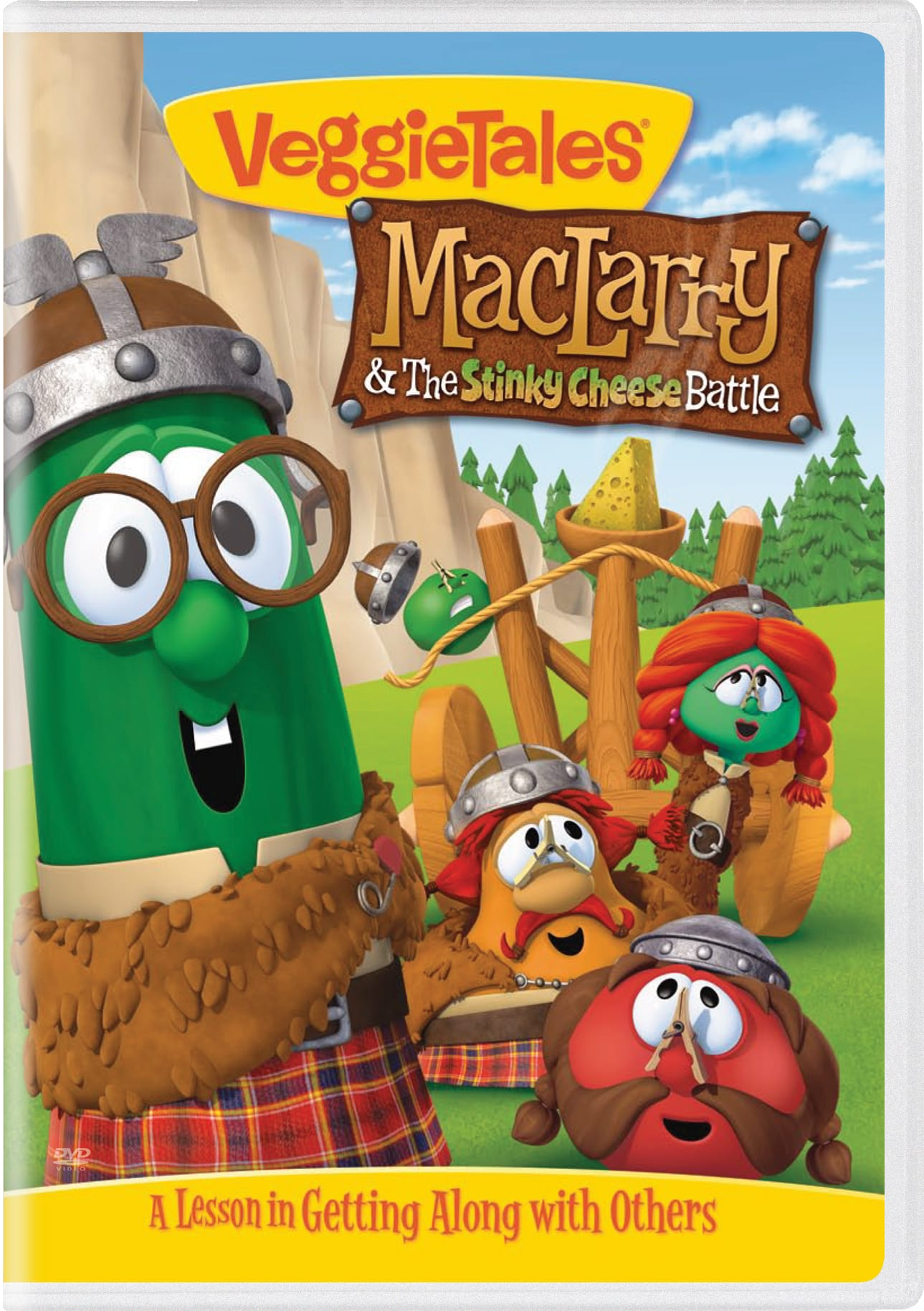 VeggieTales: MacLarry & the Stinky Cheese Battle [DVD]