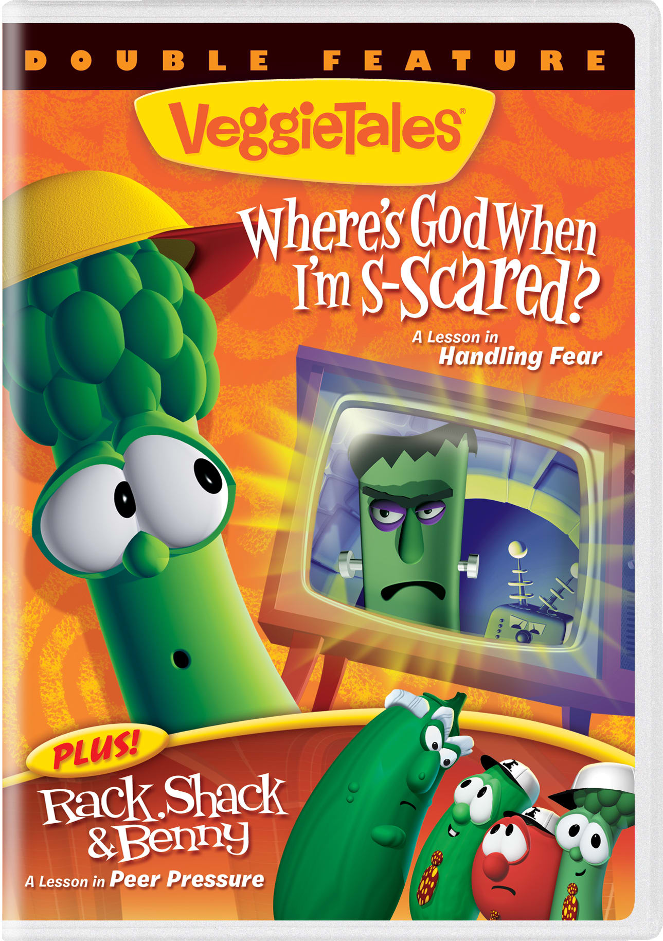 VeggieTales: Where's God When I'm S-scared??/Rack Shack & Benny [DVD]