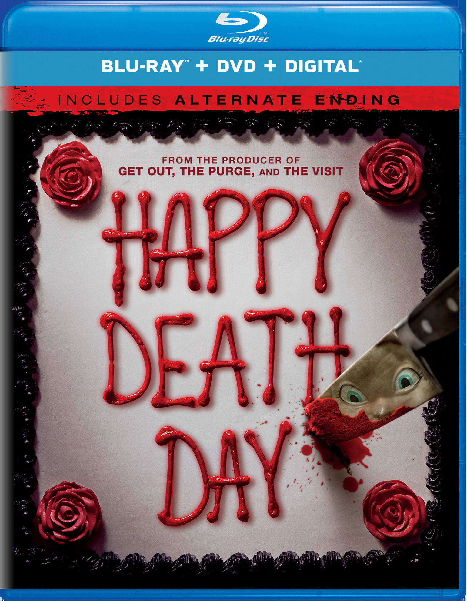 Happy Death Day (DVD + Digital) [Blu-ray]