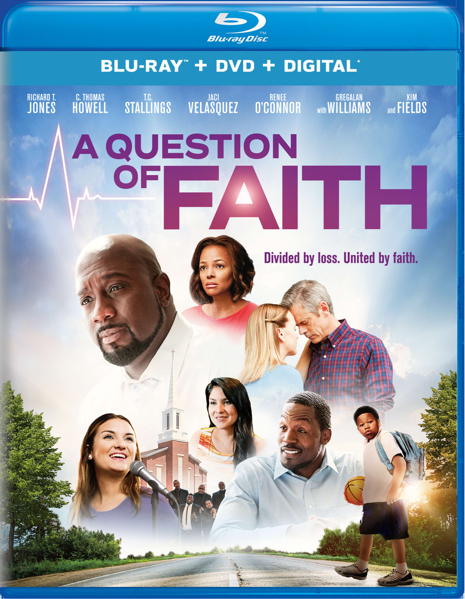 A Question of Faith (DVD + Digital) [Blu-ray]