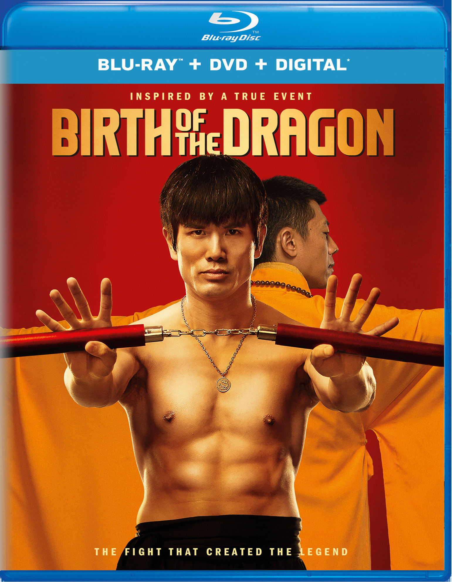 Birth of the Dragon (DVD + Digital) [Blu-ray]