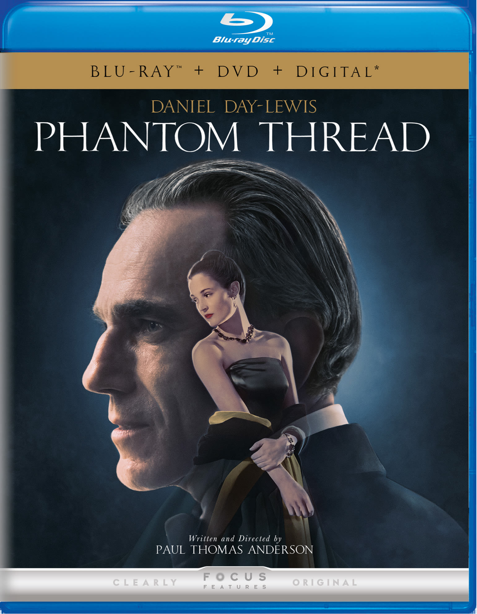 Phantom Thread (DVD + Digital) [Blu-ray]