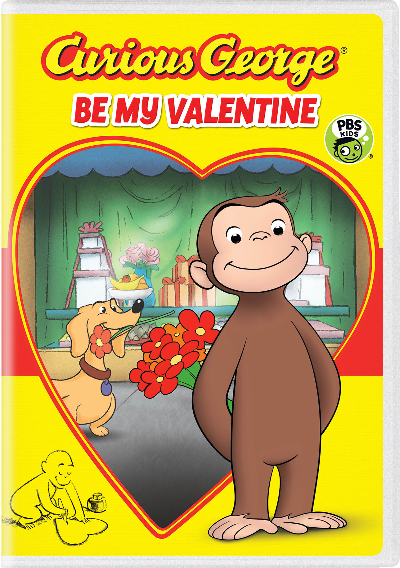 Curious George: Be My Valentine [DVD]