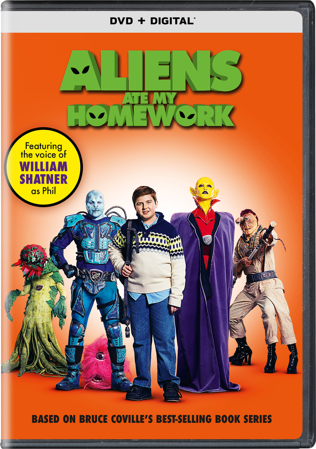 Aliens Ate My Homework (Digital) [DVD]