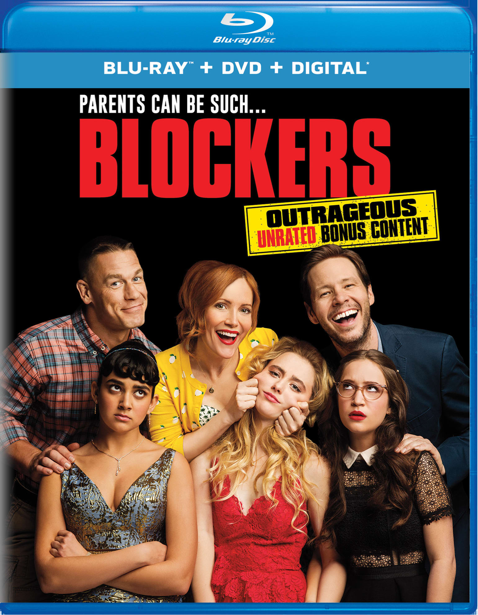 Blockers (DVD + Digital) [Blu-ray]