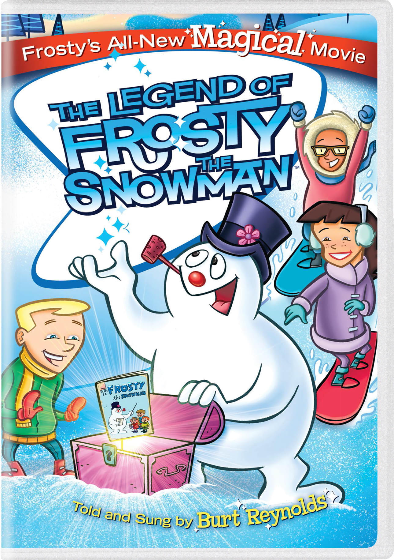 The Legend of Frosty the Snowman [DVD]