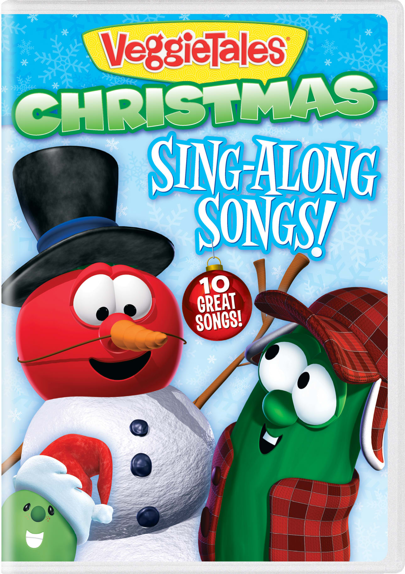 VeggieTales Christmas Sing-along Songs! [DVD]