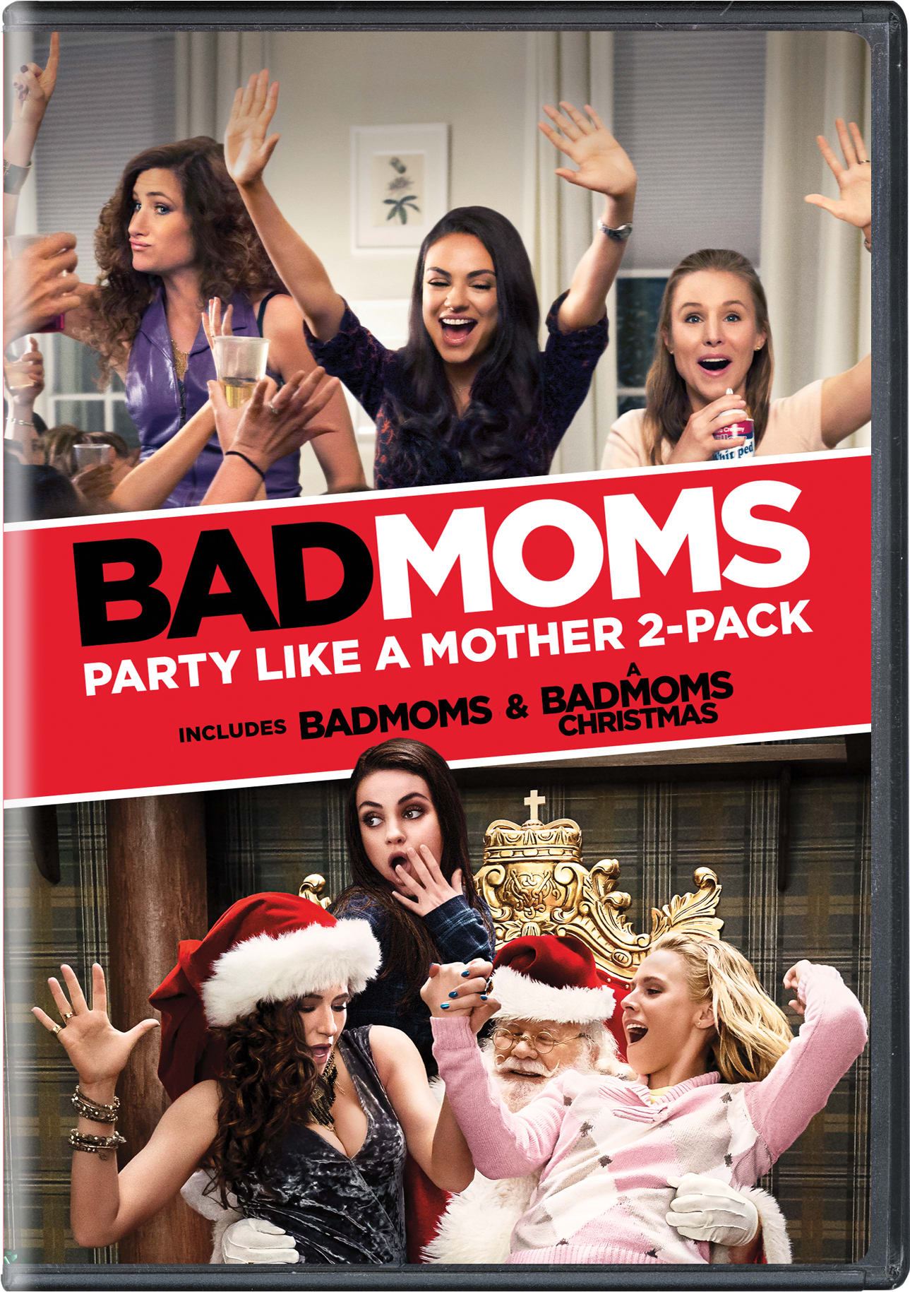 Bad Moms: Party Like a Mother 2-Pack [DVD]