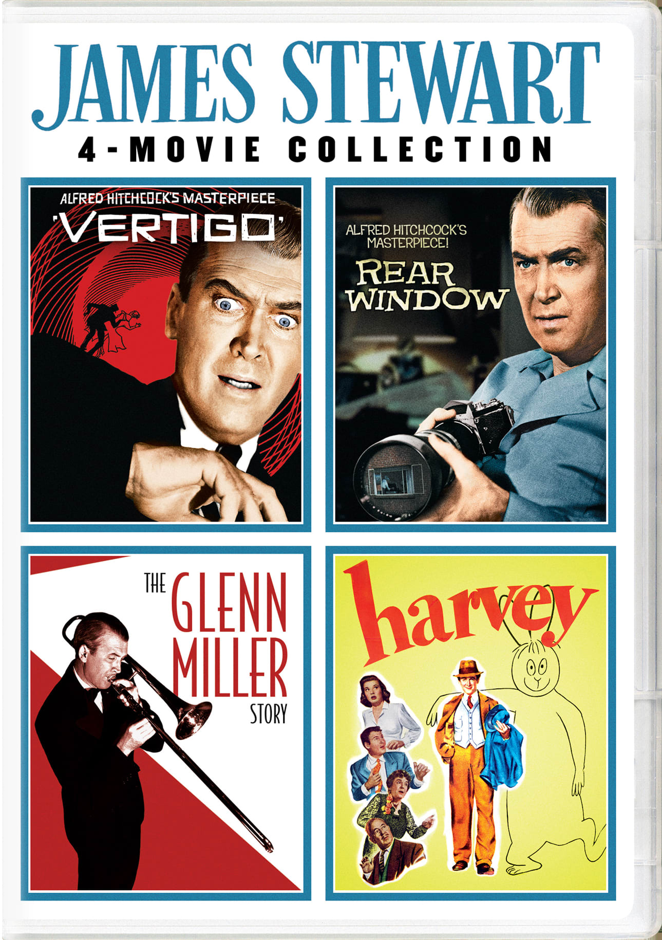 James Stewart 4-movie Collection [DVD]