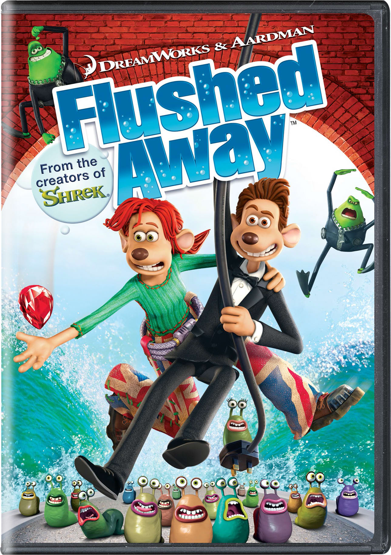 Flushed Away (Widescreen) [DVD]