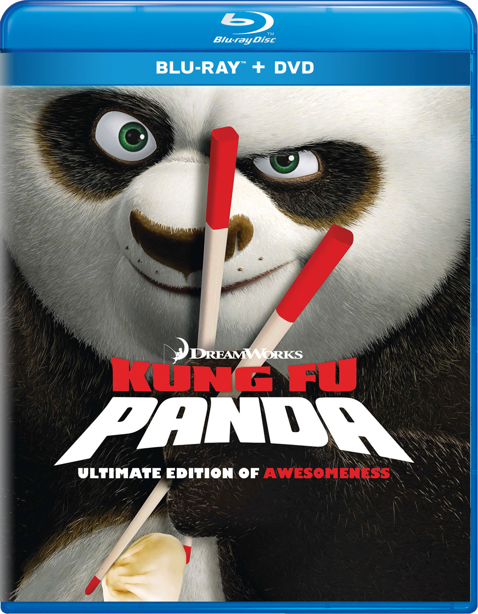 Kung Fu Panda (Ultimate Edition of Awesomeness + Digital) [Blu-ray]