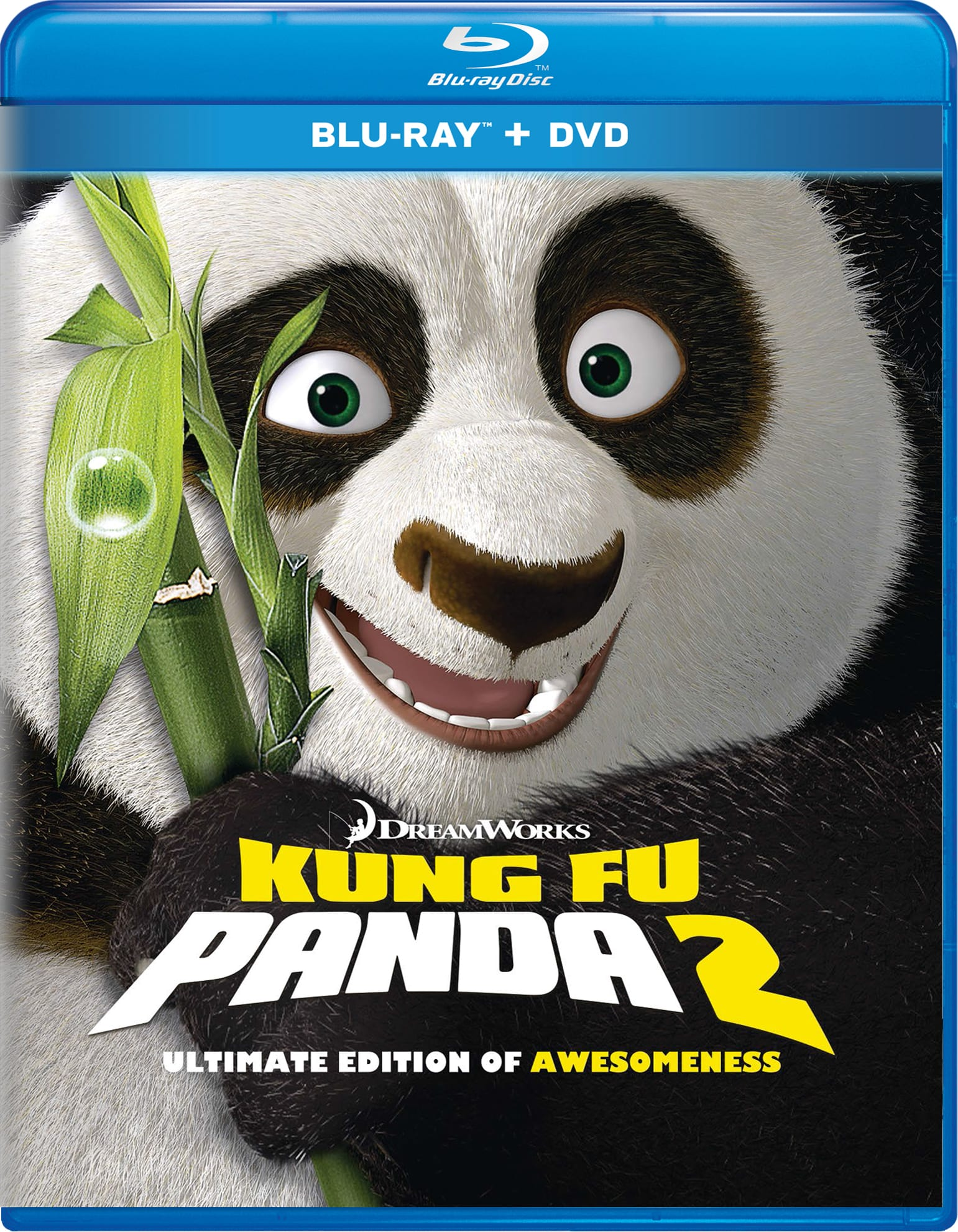 Kung Fu Panda 2 (Ultimate Edition of Awesomeness + Digital) [Blu-ray]