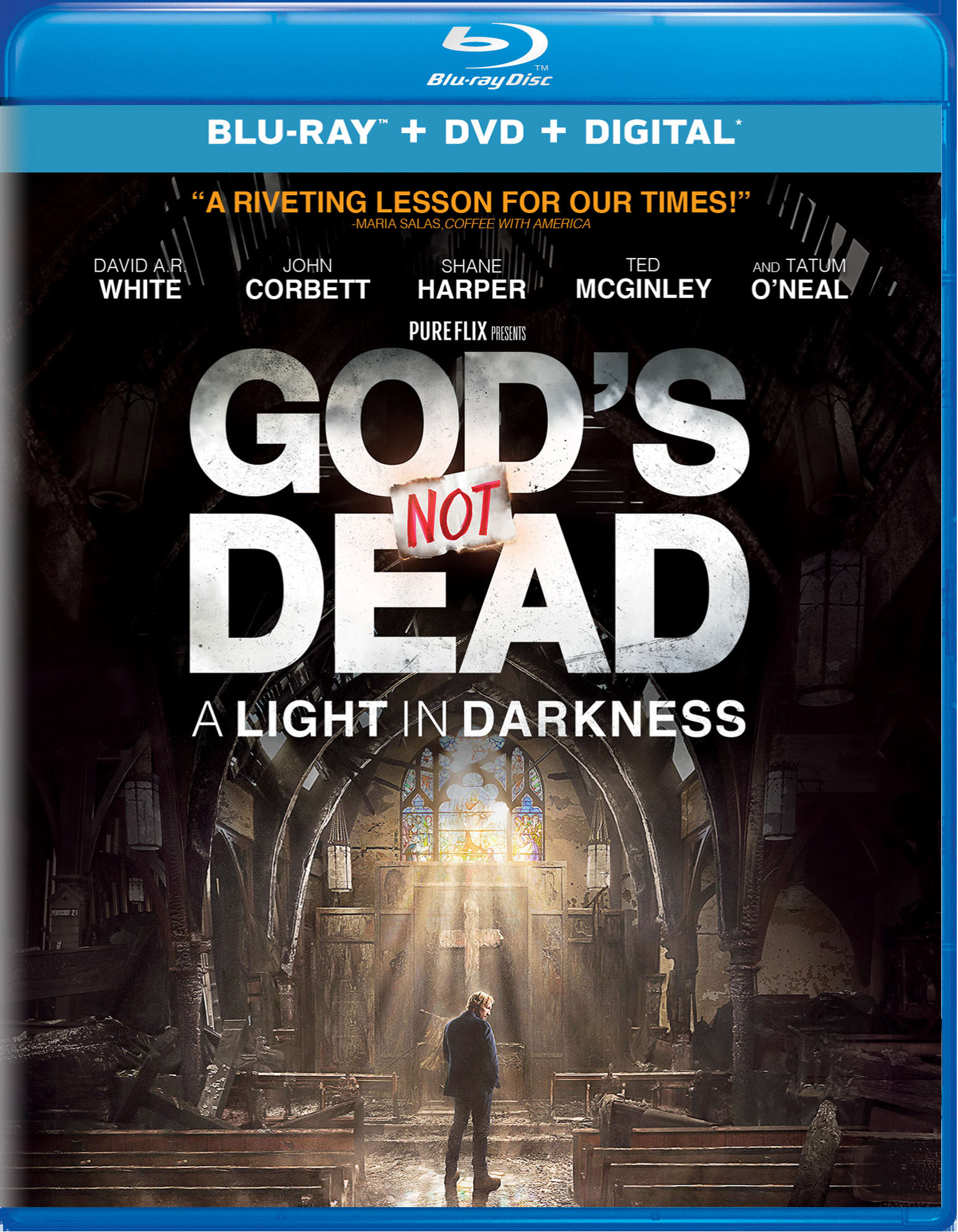 God's Not Dead 3 (DVD + Digital) [Blu-ray]