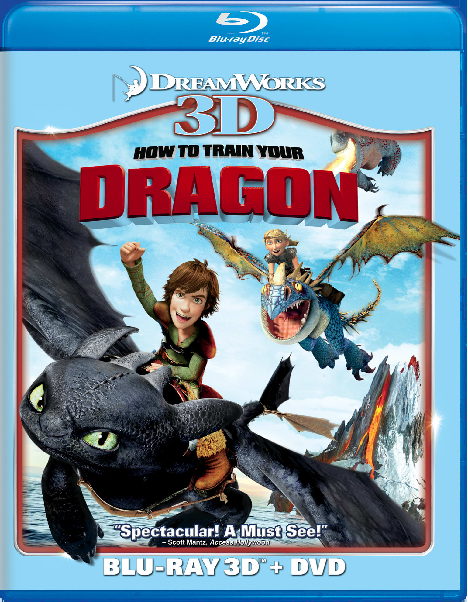 How to Train Your Dragon 3D (Combo Pack) [Blu-ray]