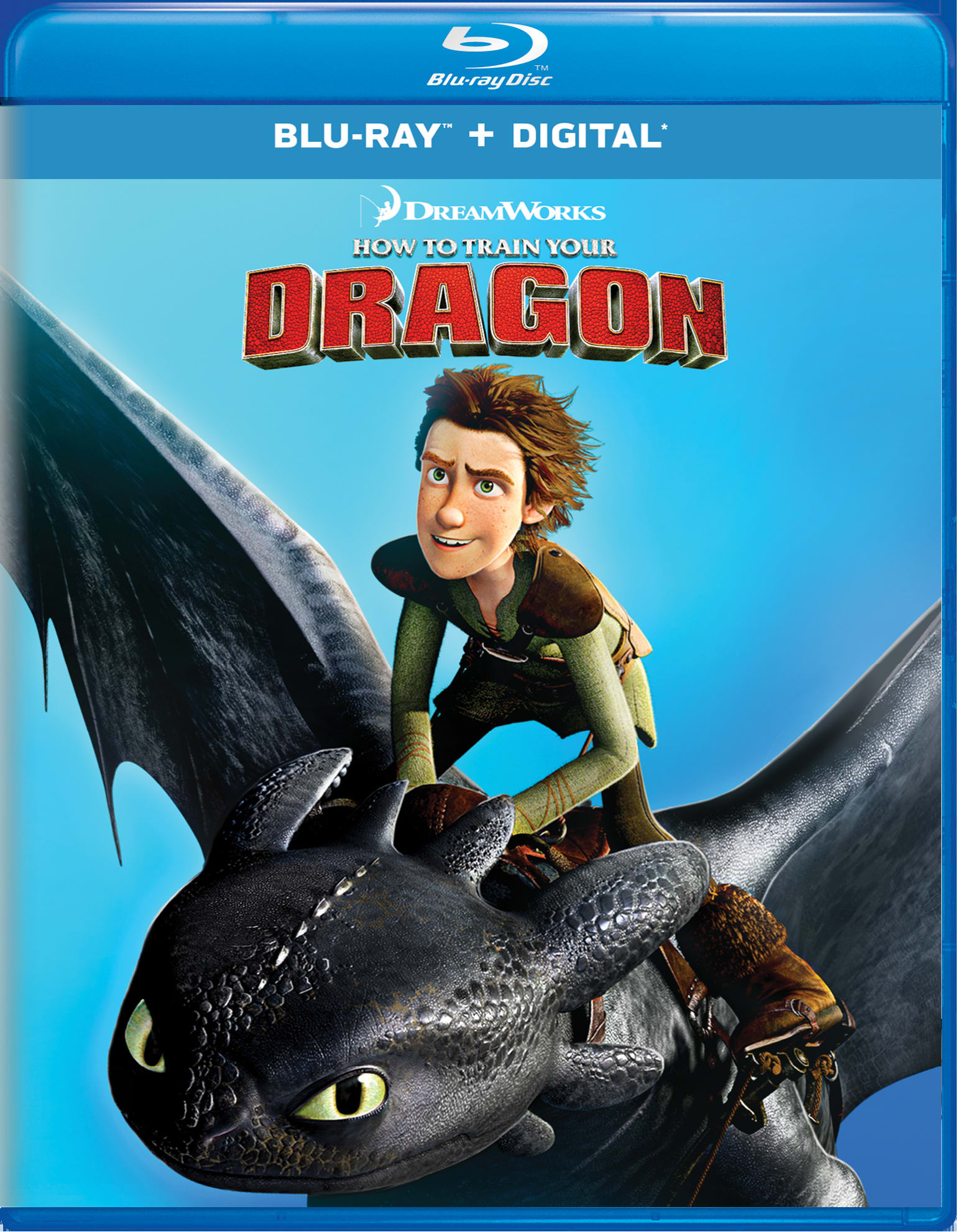 How to Train Your Dragon (Digital) [Blu-ray]