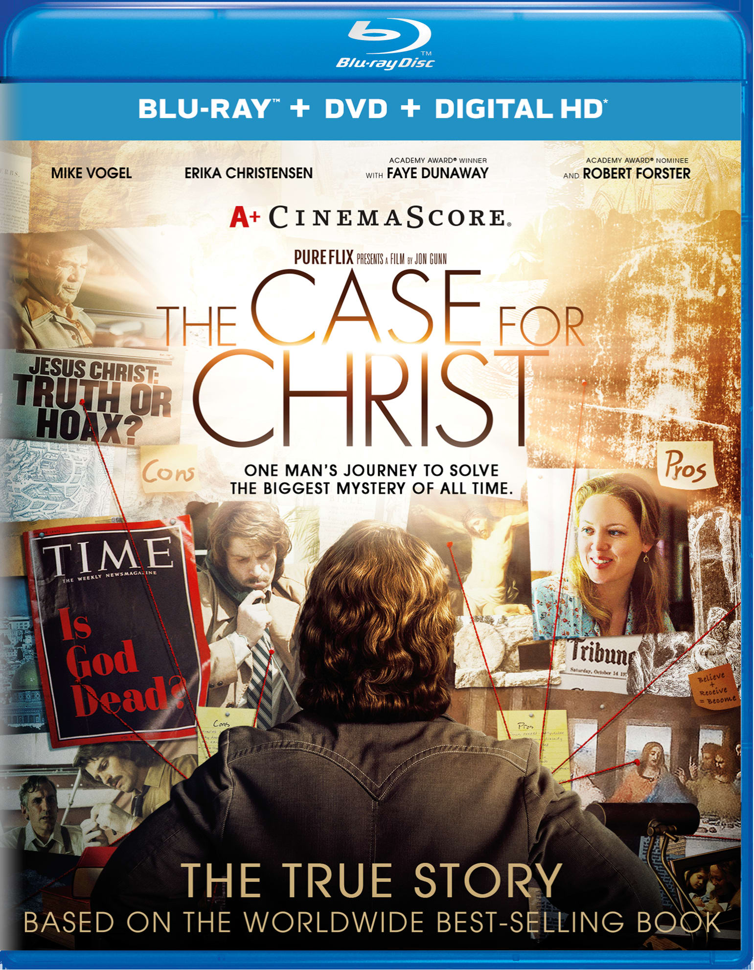 The Case for Christ (DVD + Digital) [Blu-ray]