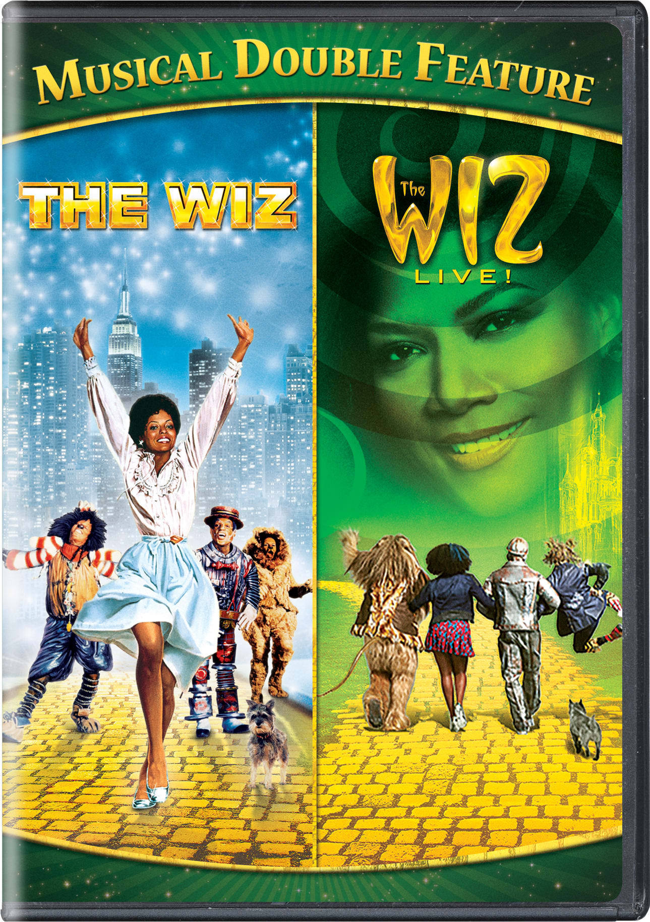 The Wiz/The Wiz Live! Musical [DVD]