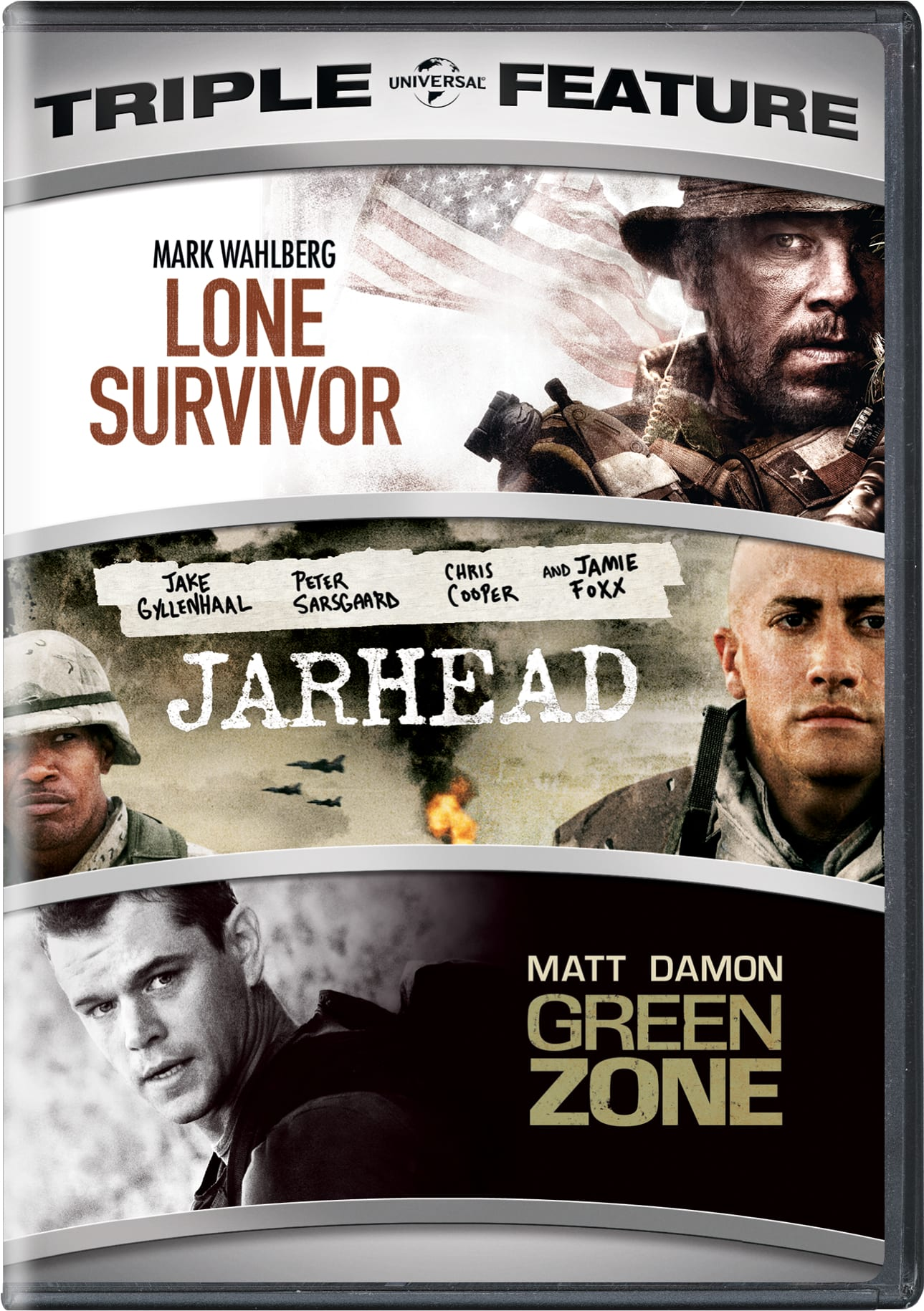 Lone Survivor/Jarhead/Green Zone [DVD]