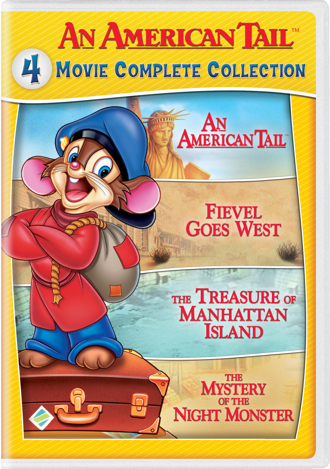 An American Tail: 1-4 [DVD]