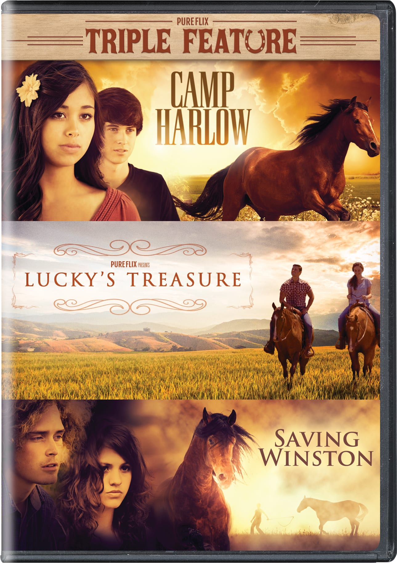 Camp Harlow/Lucky's Treasure/Saving Winston (Box Set) [DVD]