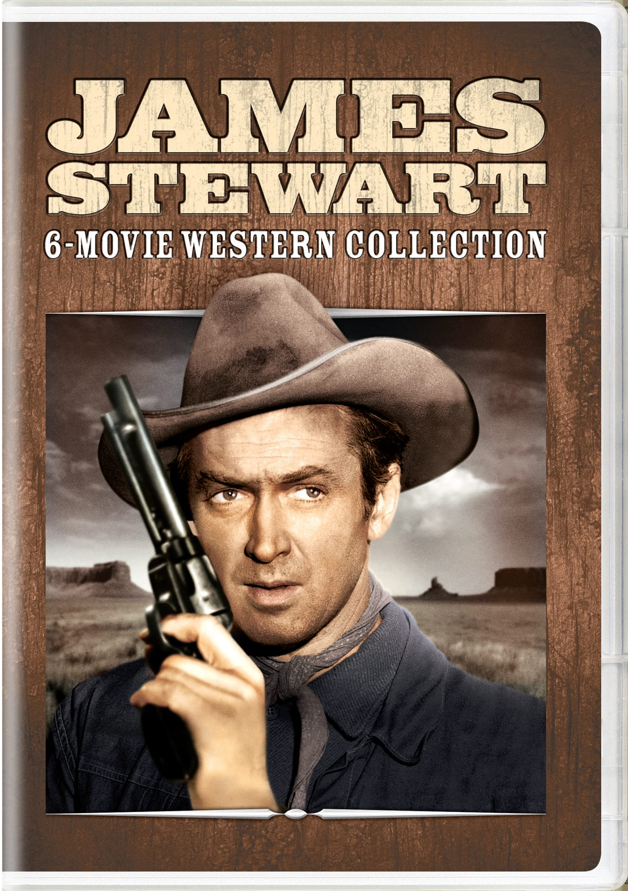 James Stewart: 6-movie Western Collection [DVD]