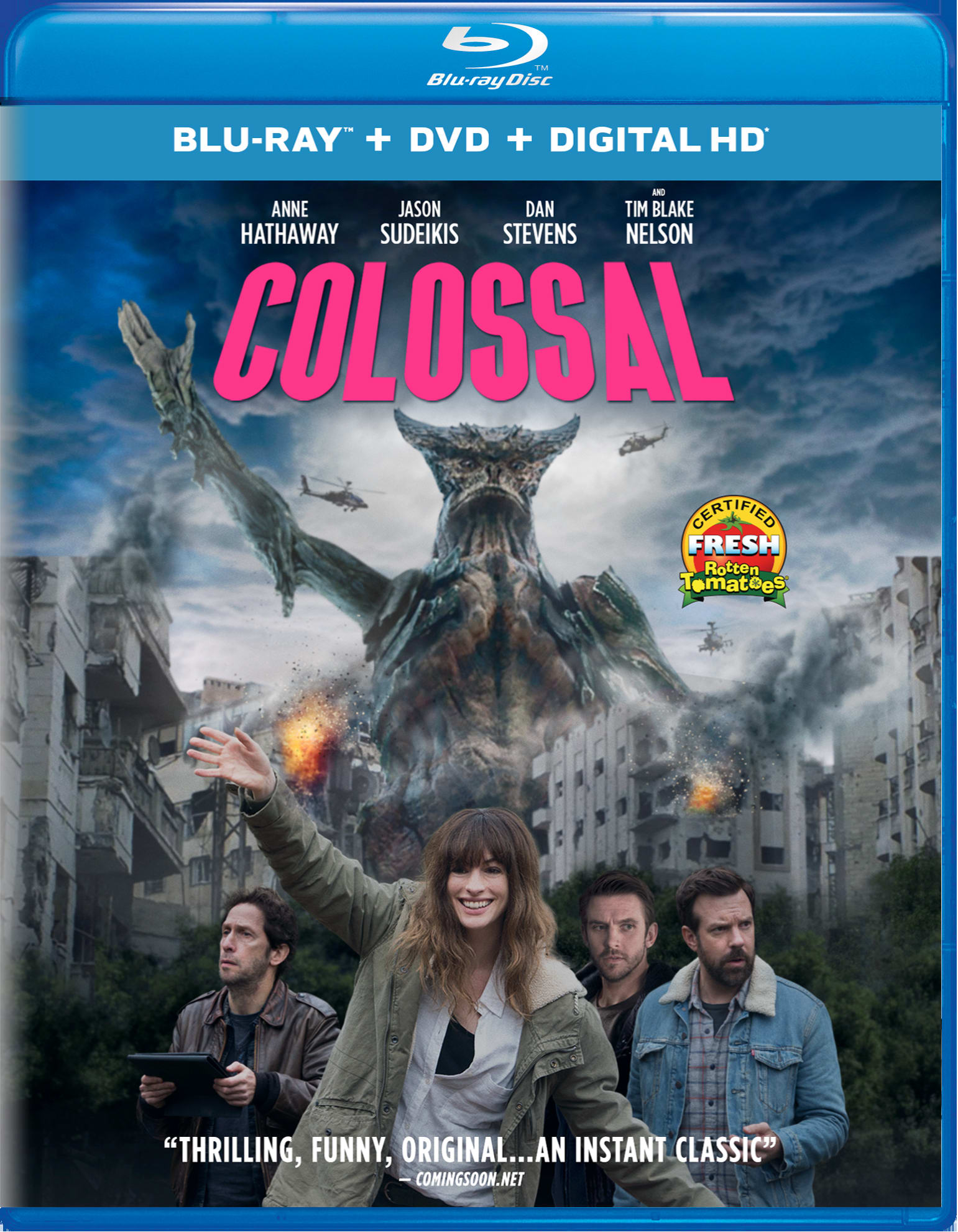Colossal (DVD + Digital) [Blu-ray]