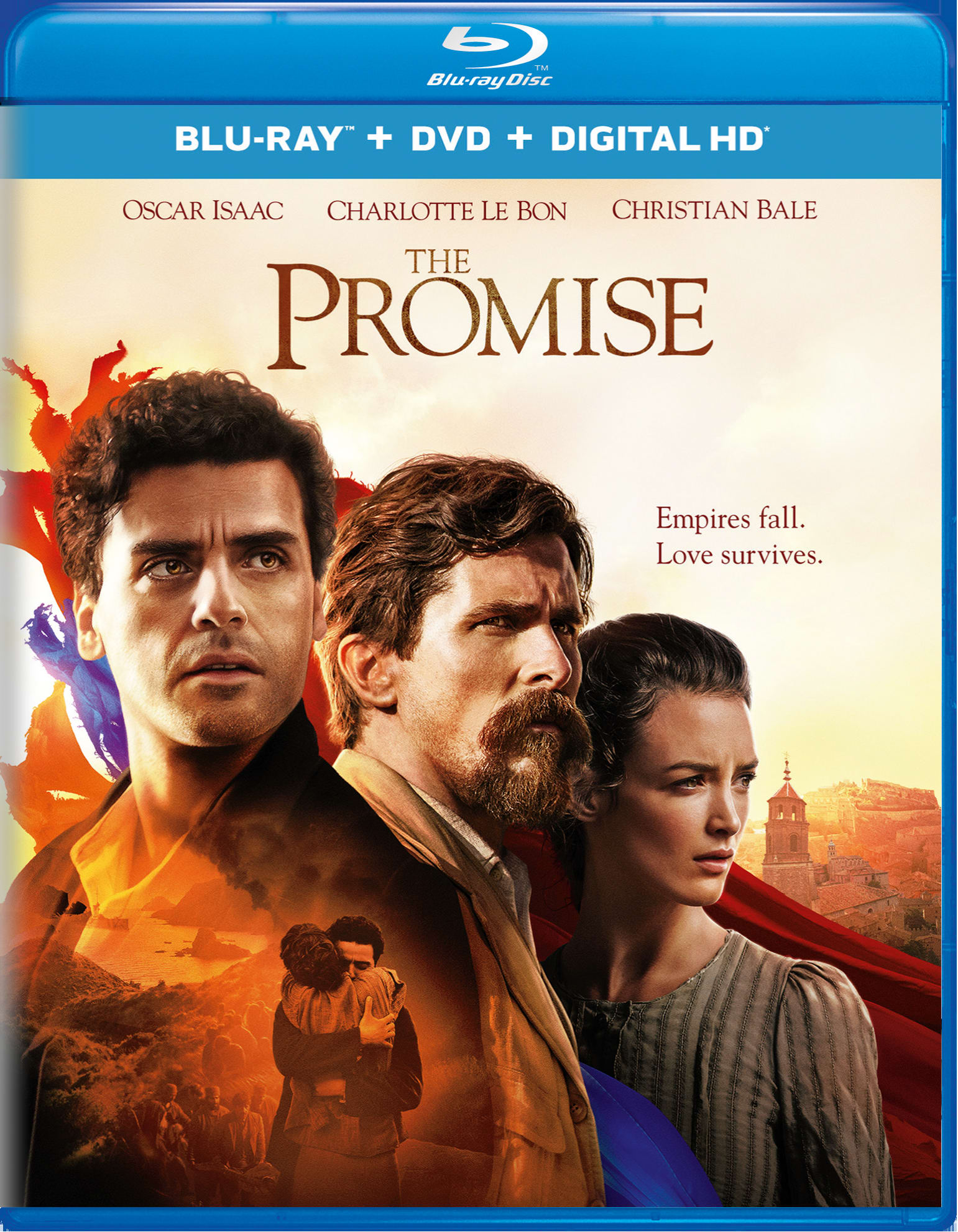 The Promise (2017) (DVD + Digital) [Blu-ray]