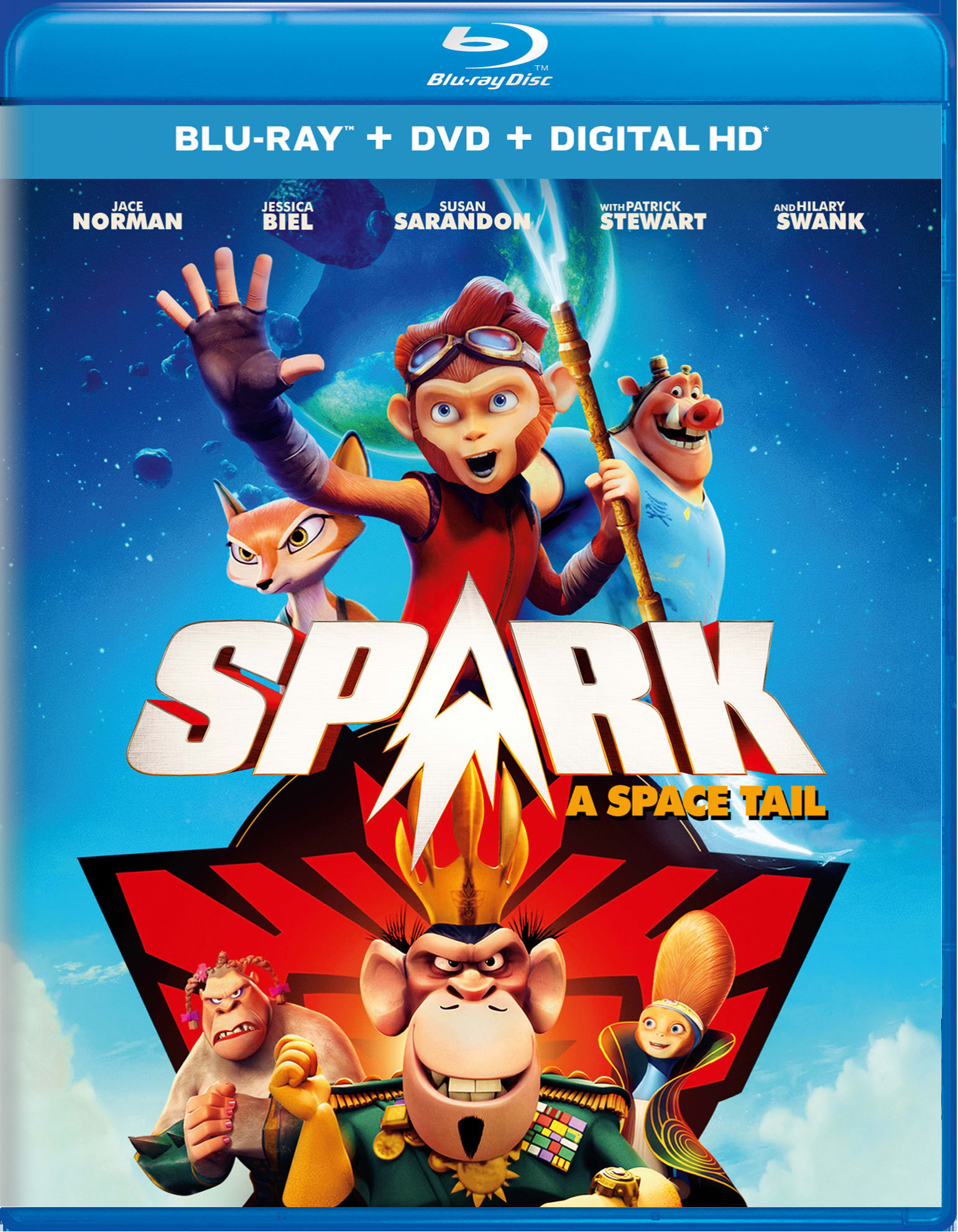 Spark: A Space Tail (DVD + Digital) [Blu-ray]