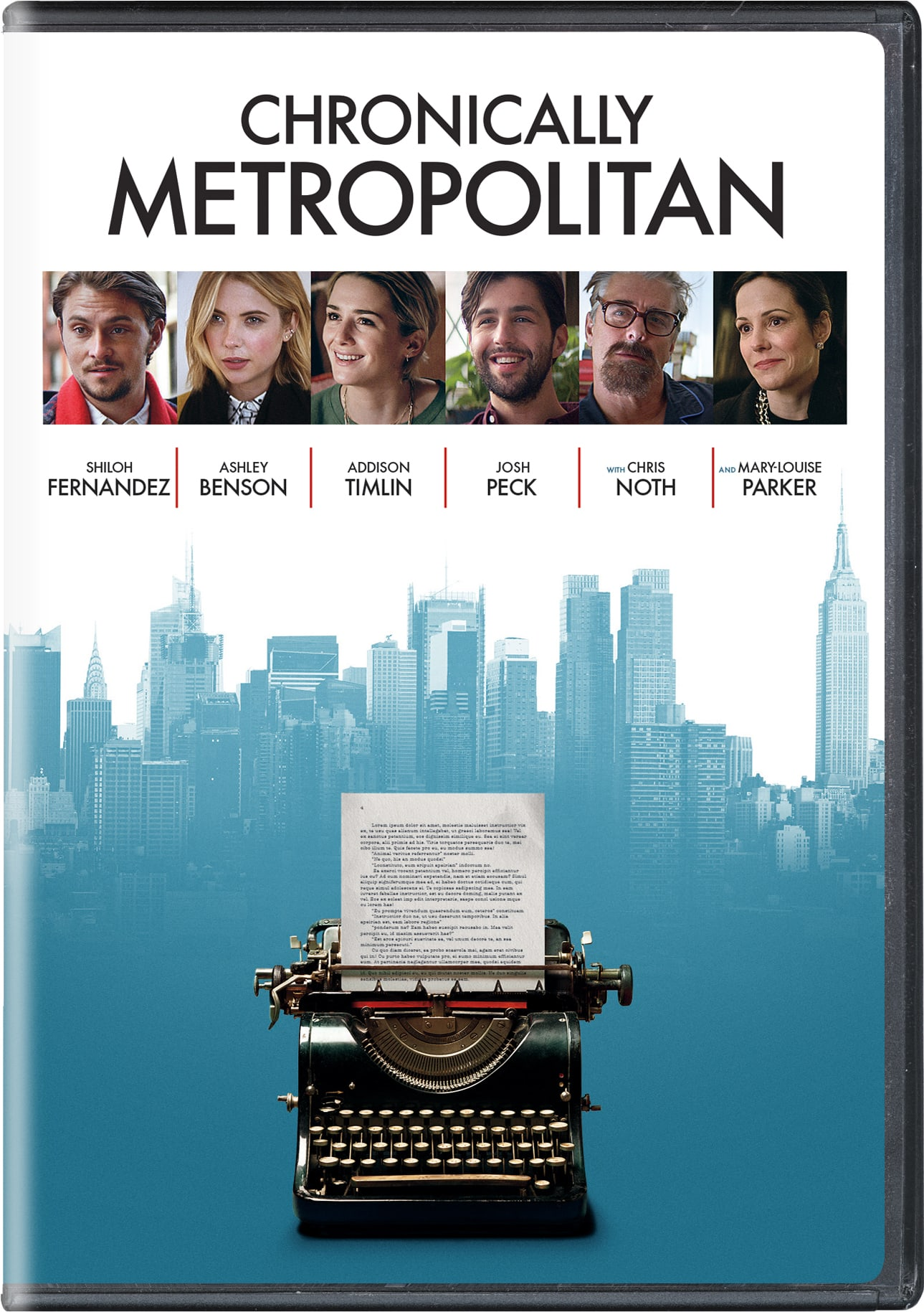 Chronically Metropolitan [DVD]