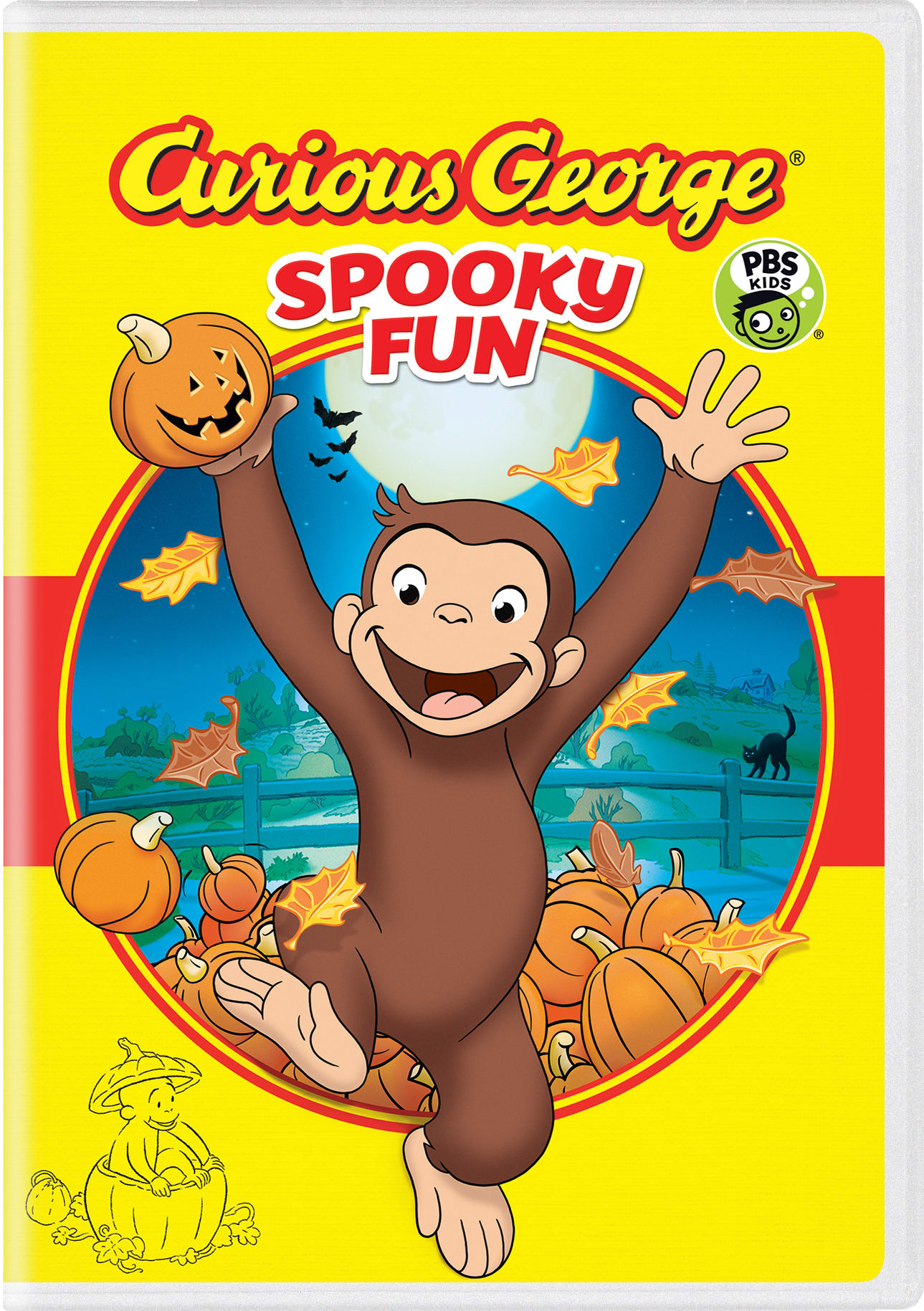 Curious George: Spooky Fun [DVD]